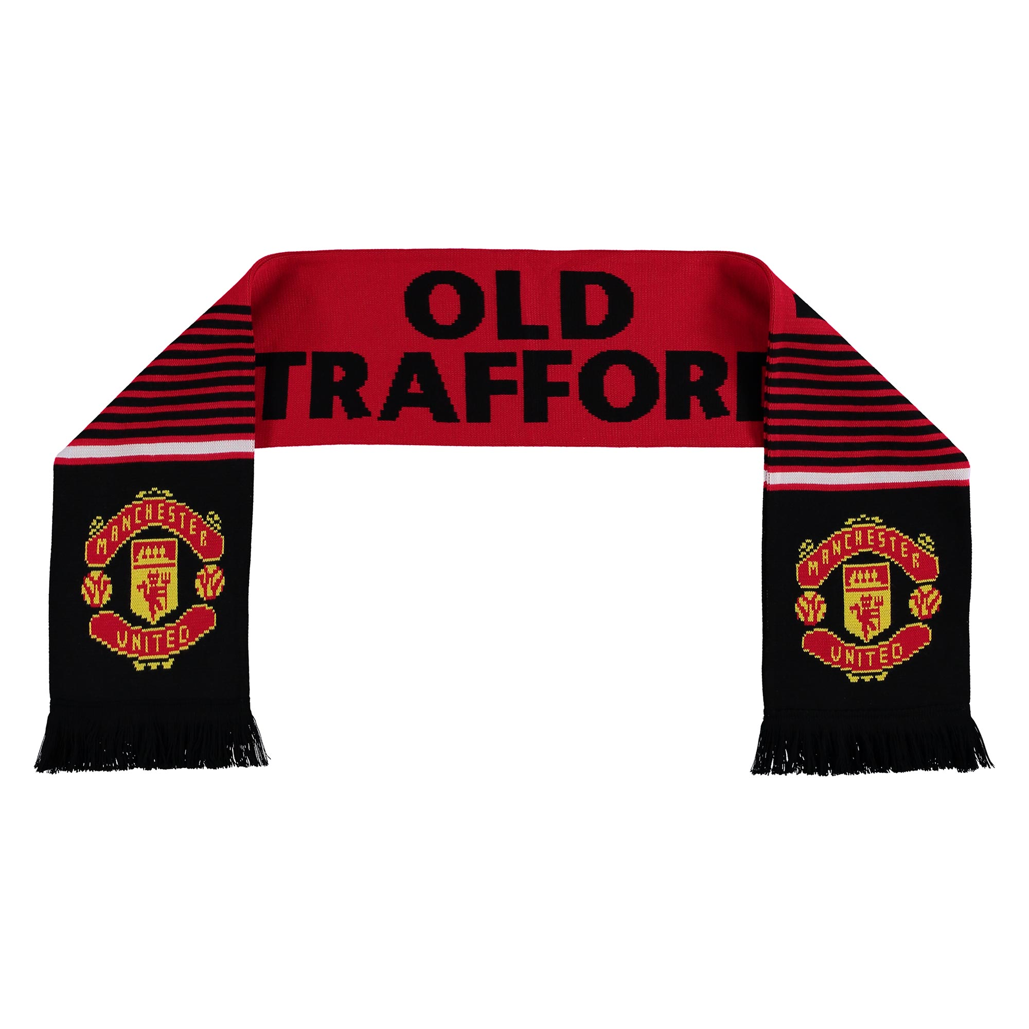 Écharpe de fan Manchester United Old Trafford - Rouge - Adulte