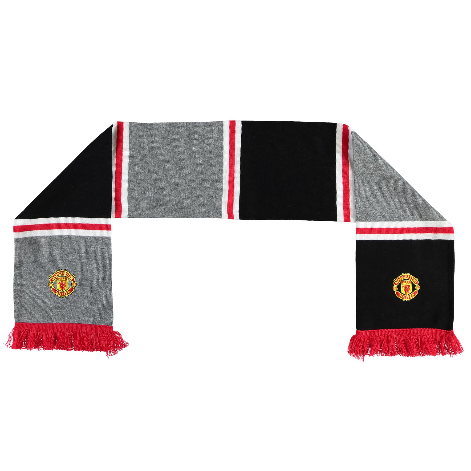 Écharpe Manchester United - Gris - Adulte