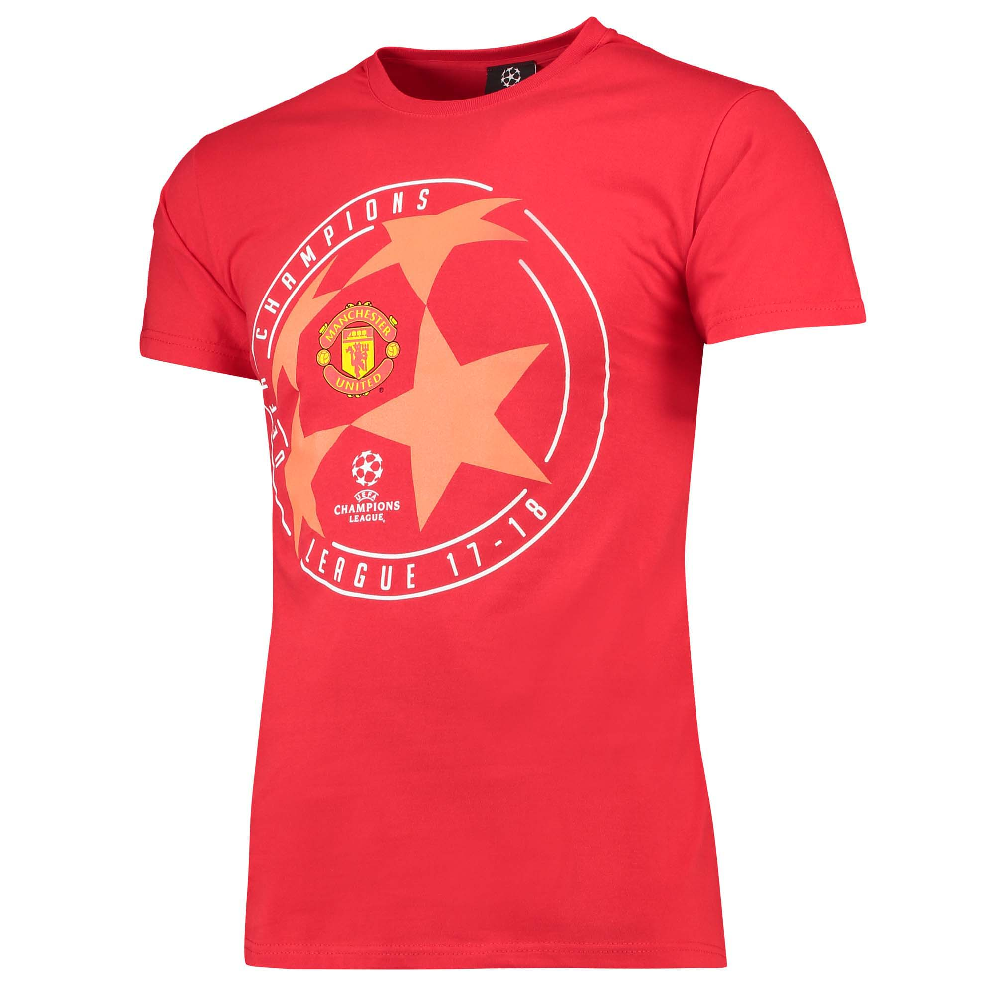 Camiseta Manchester United UEFA Champions League Star Ball - Rojo - Hombre