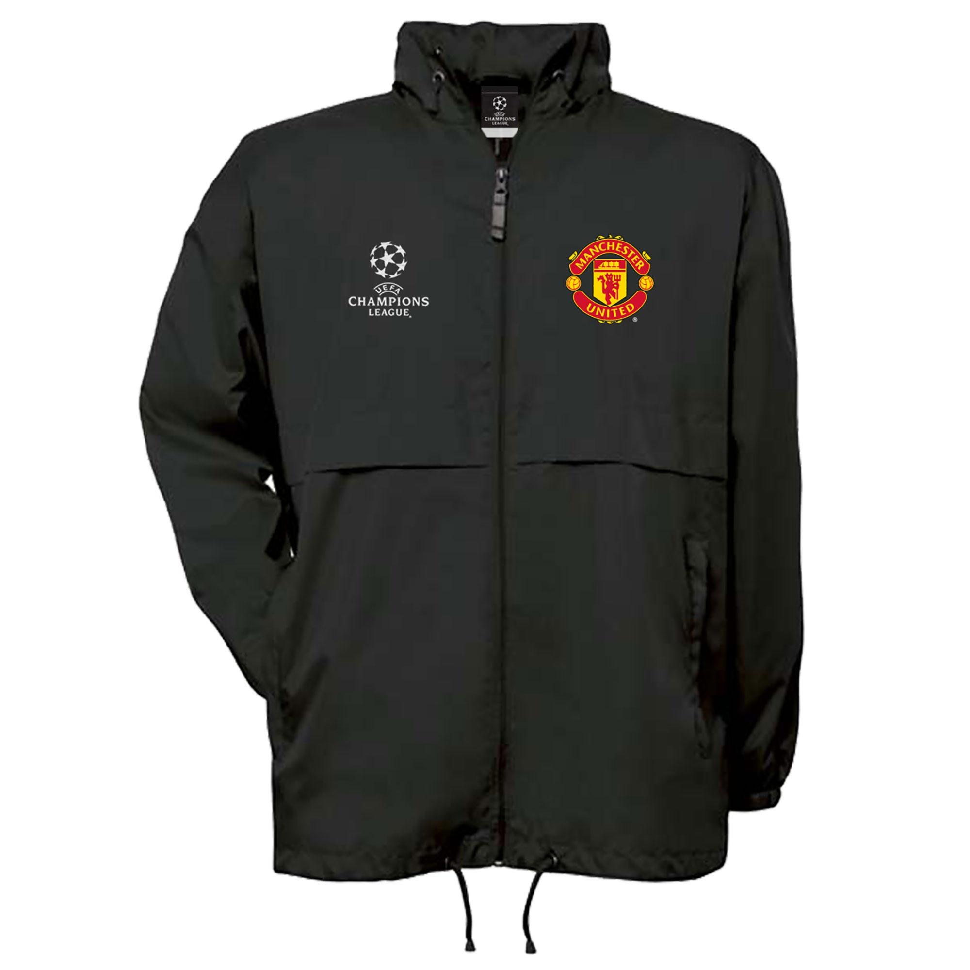 Coupe-vent Manchester United UEFA Champions League - Noir - Homme