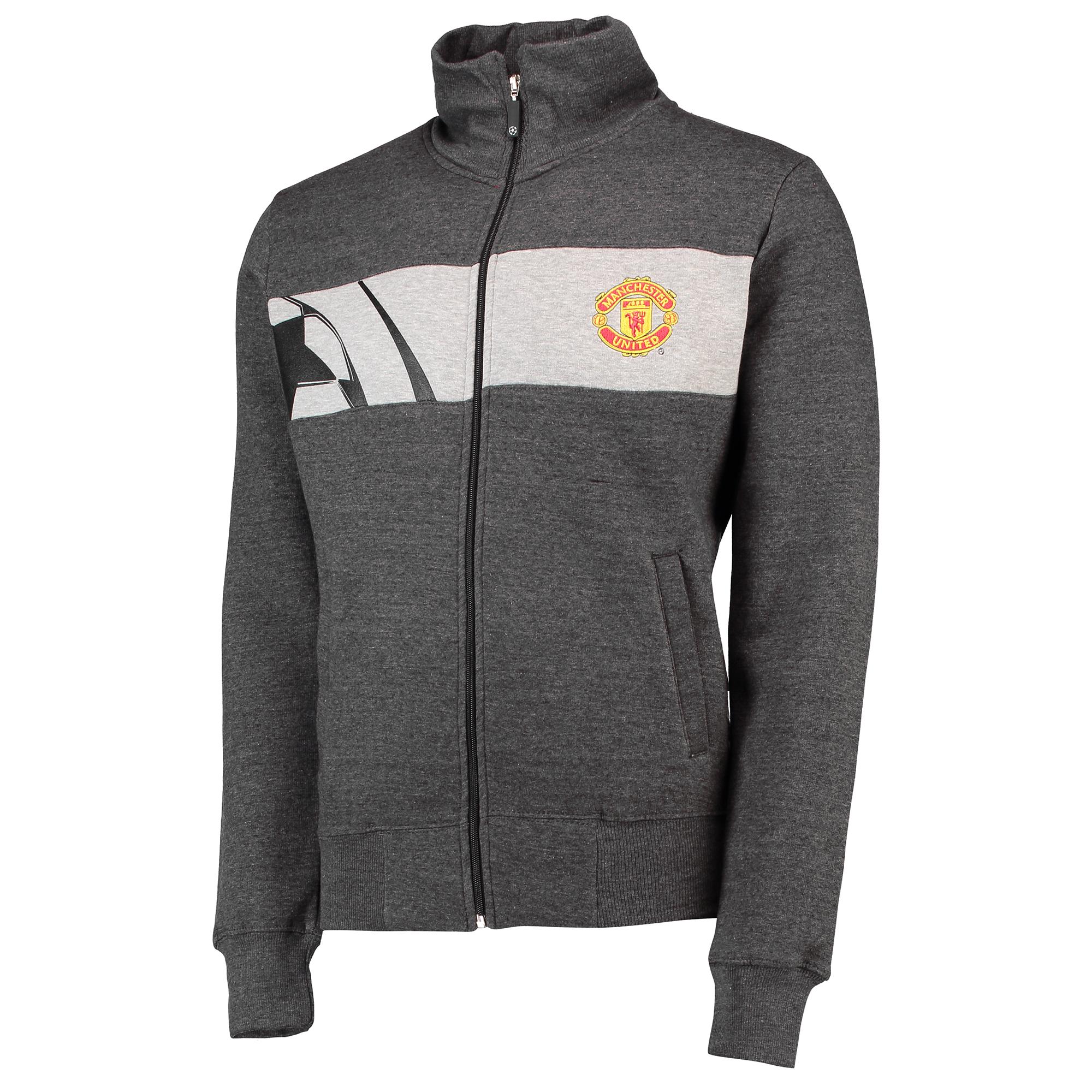 Veste de survêtement Manchester United UEFA Champions League Silverwear - Bleu marine - Homme