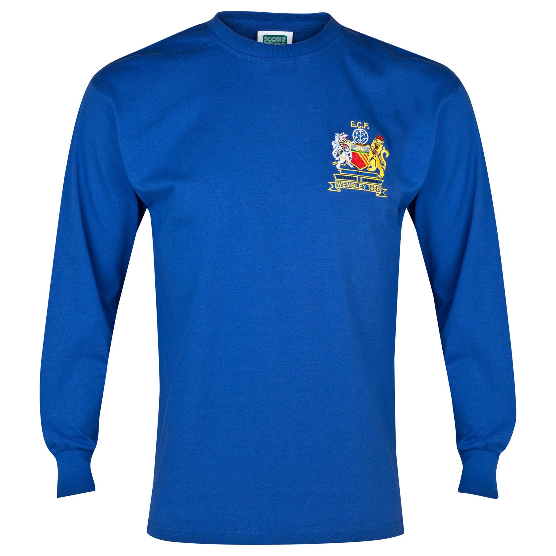 Manchester United 1968 European Cup Final Retro Away Shirt
