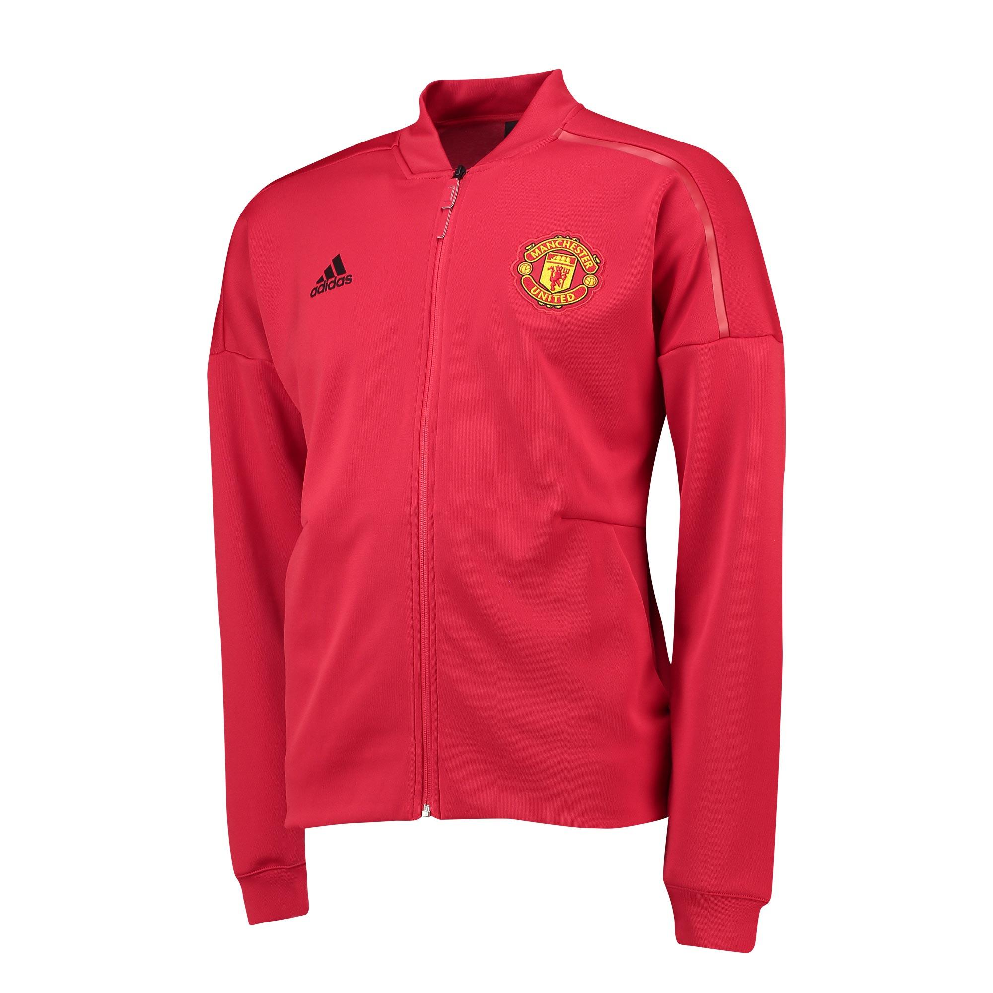 Chaqueta ZNE Anthem de la equipación local del Manchester United en rojo