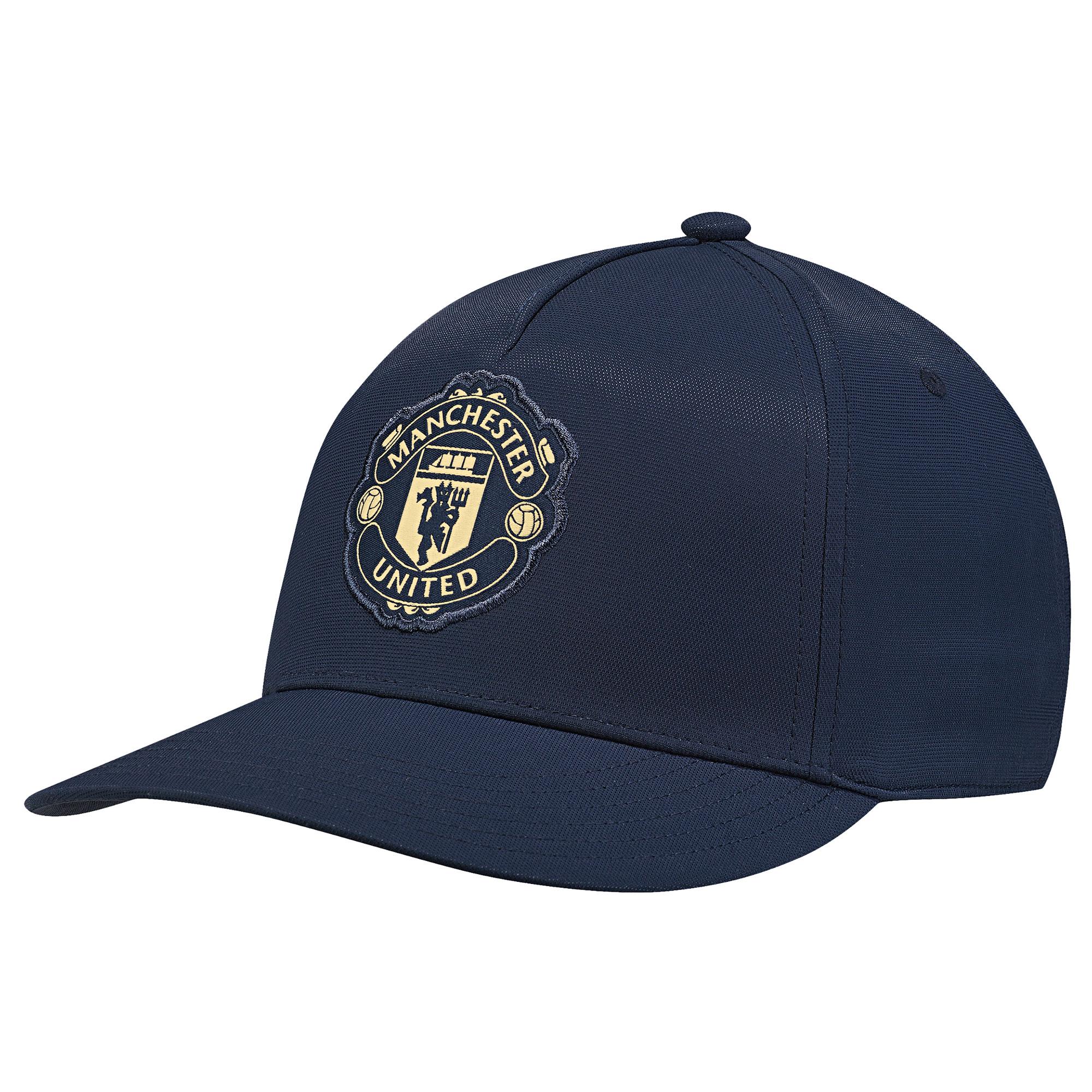 Casquette à visière plate Manchester United - Marine