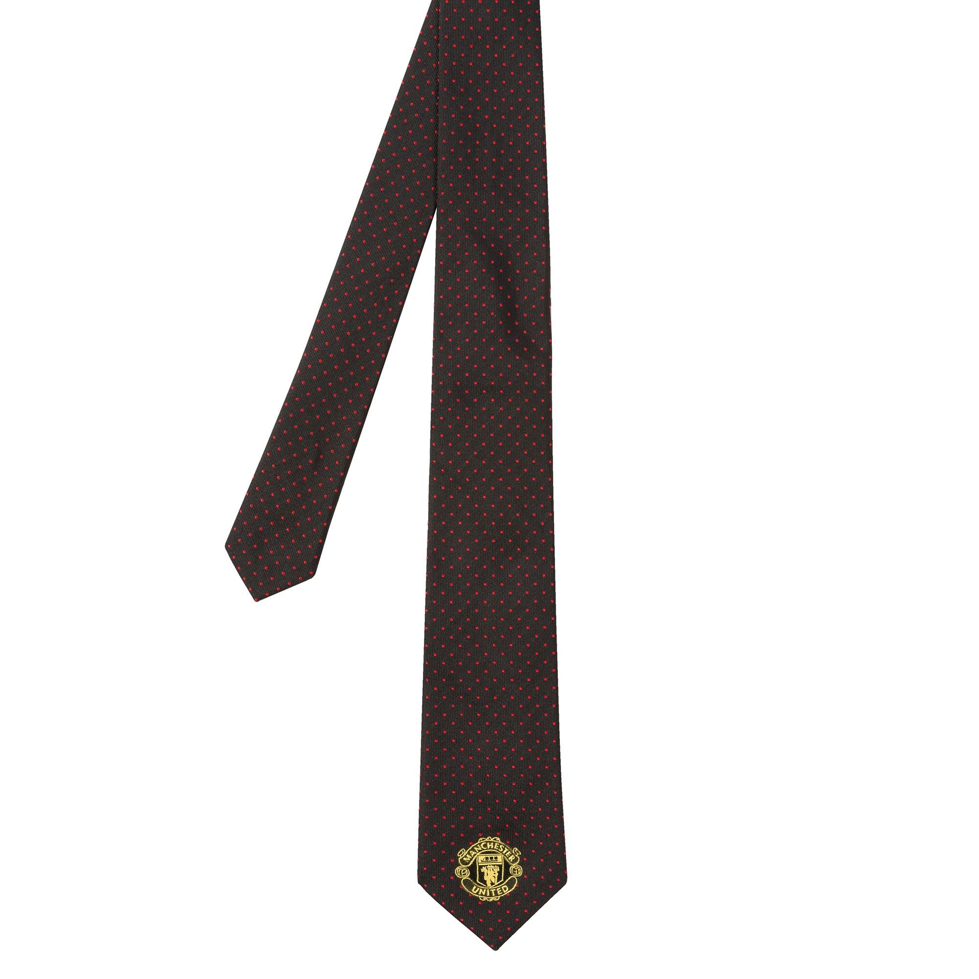 Paul Smith Manchester United - Cravate à pois noir