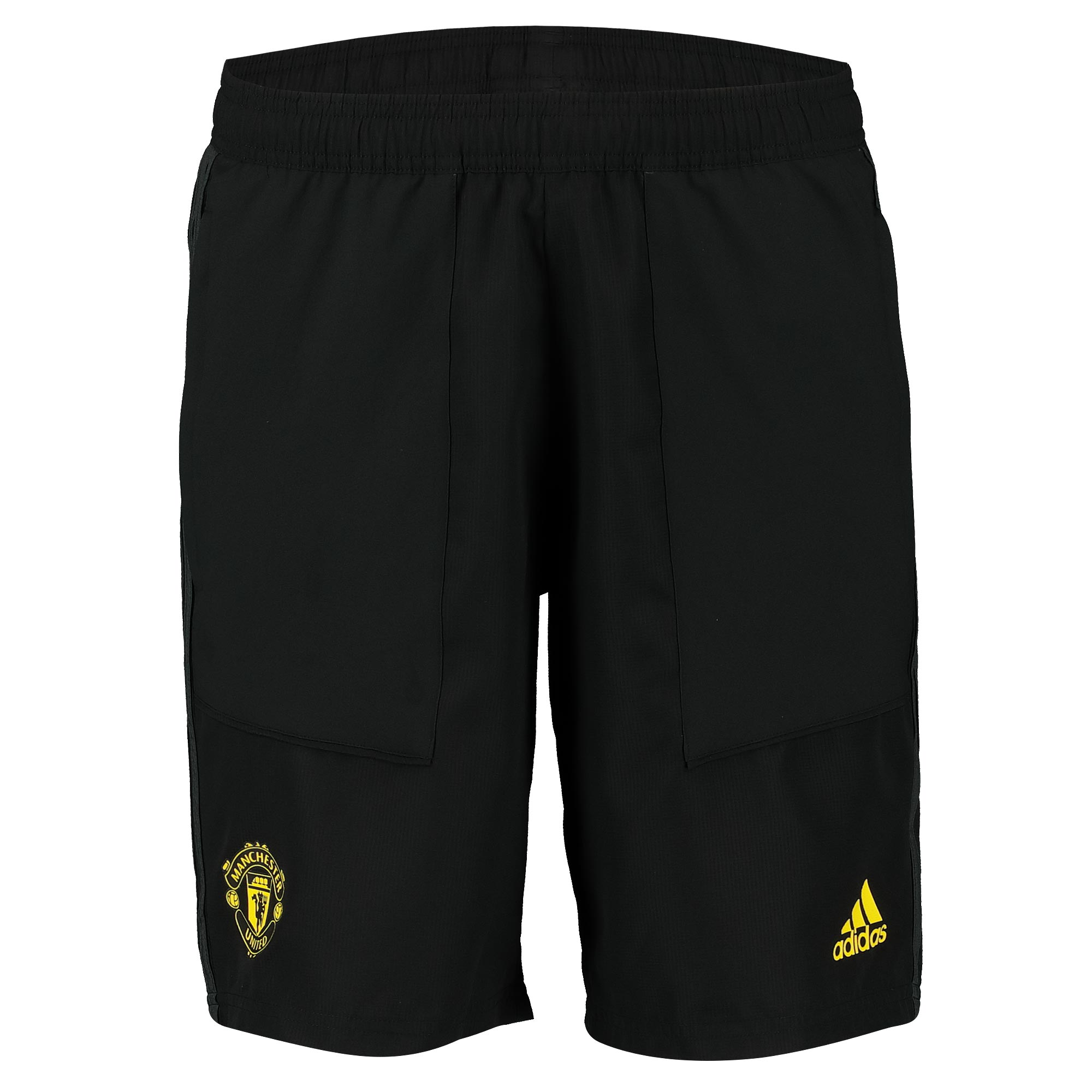 Manchester United Training Woven Shorts - Black