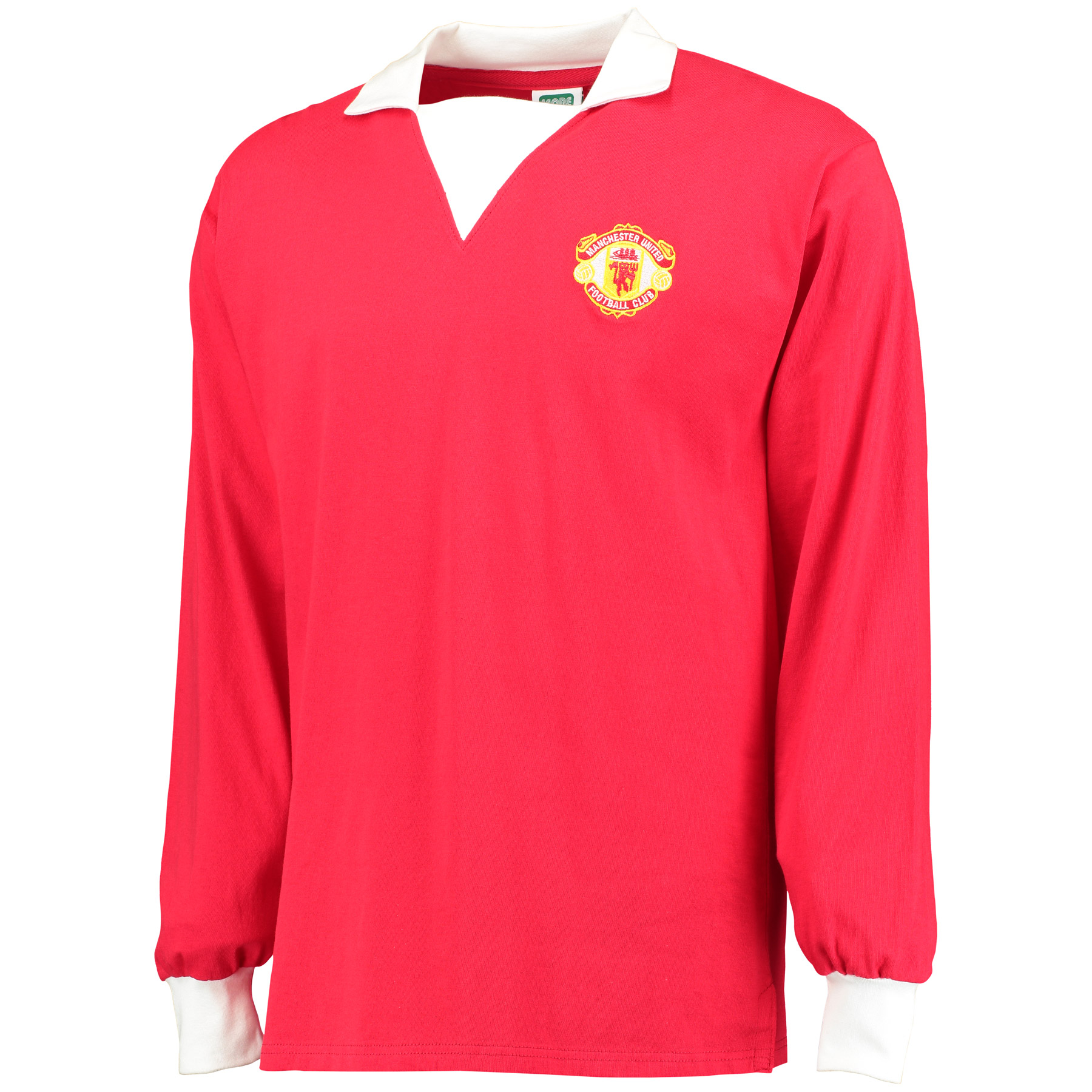 Manchester United 1973 Retro Home Shirt with No 7