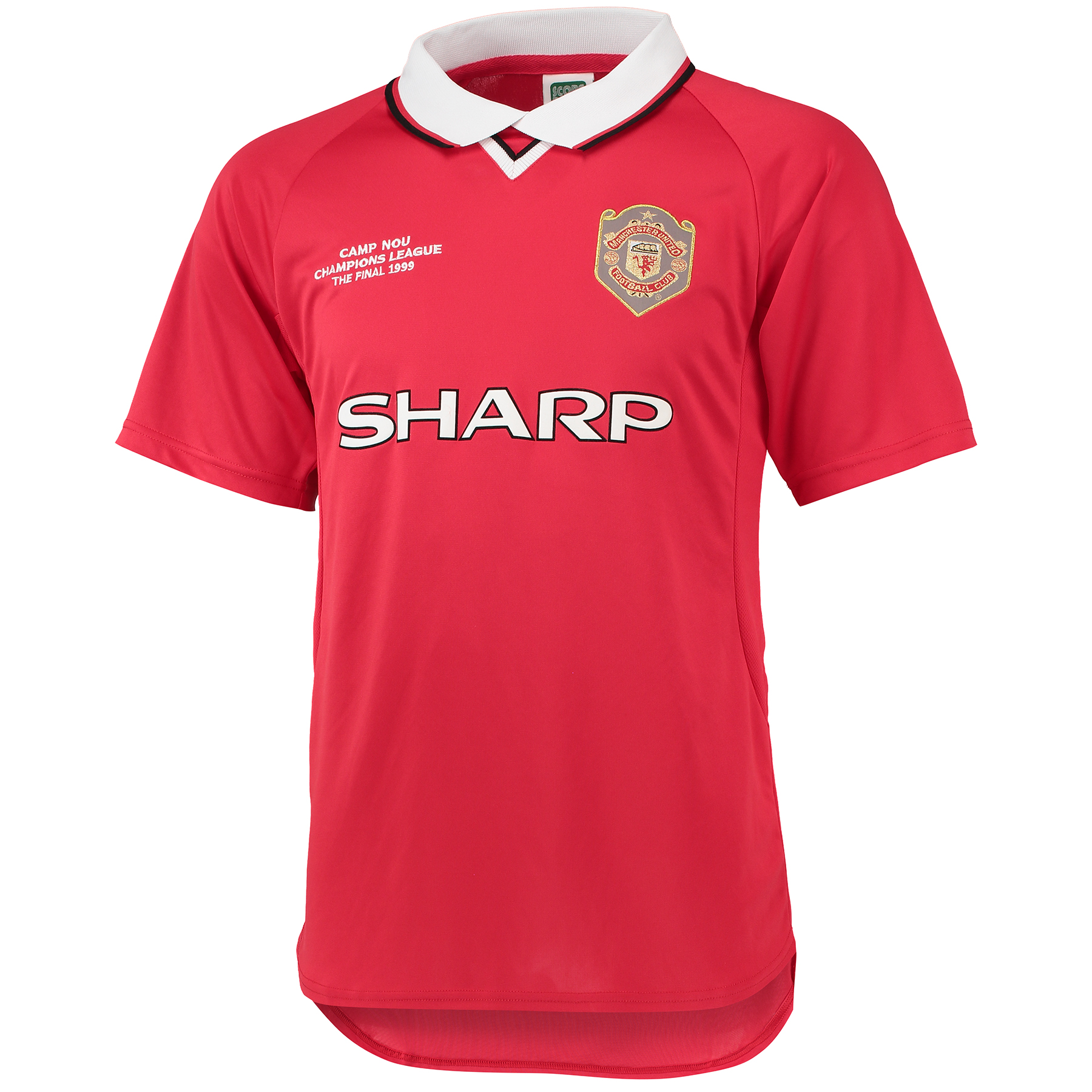 Manchester United Retro Champions League Final Shirt 1999