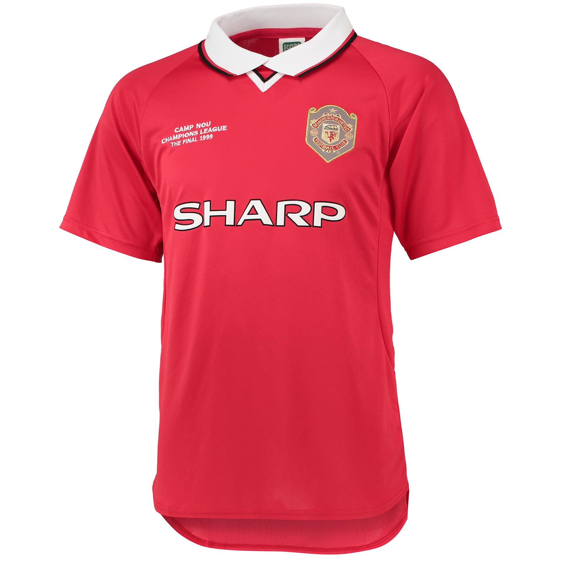 Manchester United Retro Champions League Final Shirt 1999