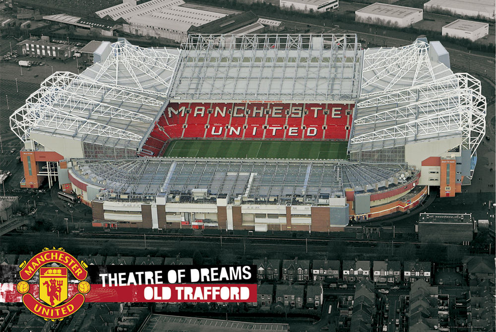 Manchester United Poster - Theatre of Dreams - 61 x 92cm