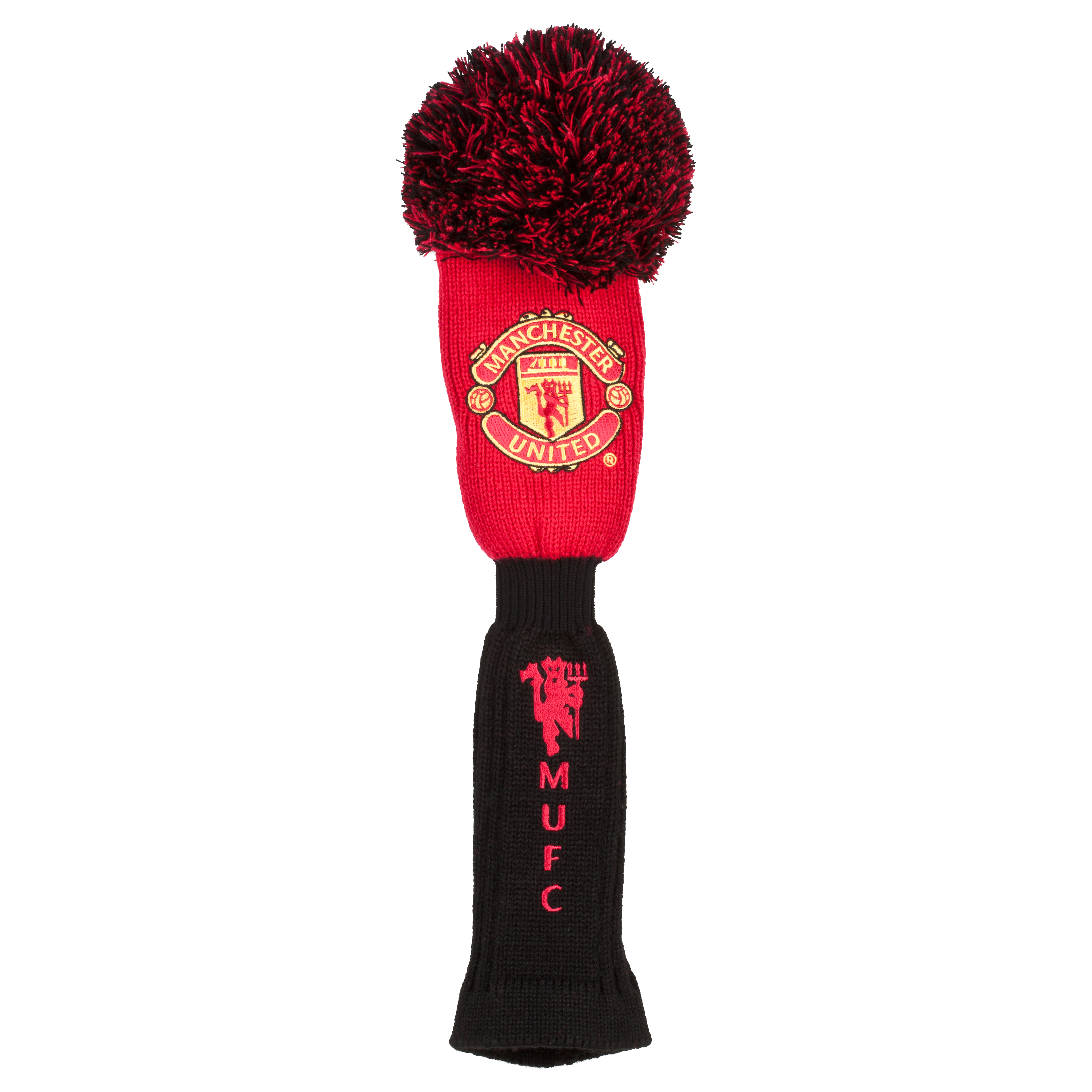 Manchester United Golf Pom-Pom Driver Headcover - Red