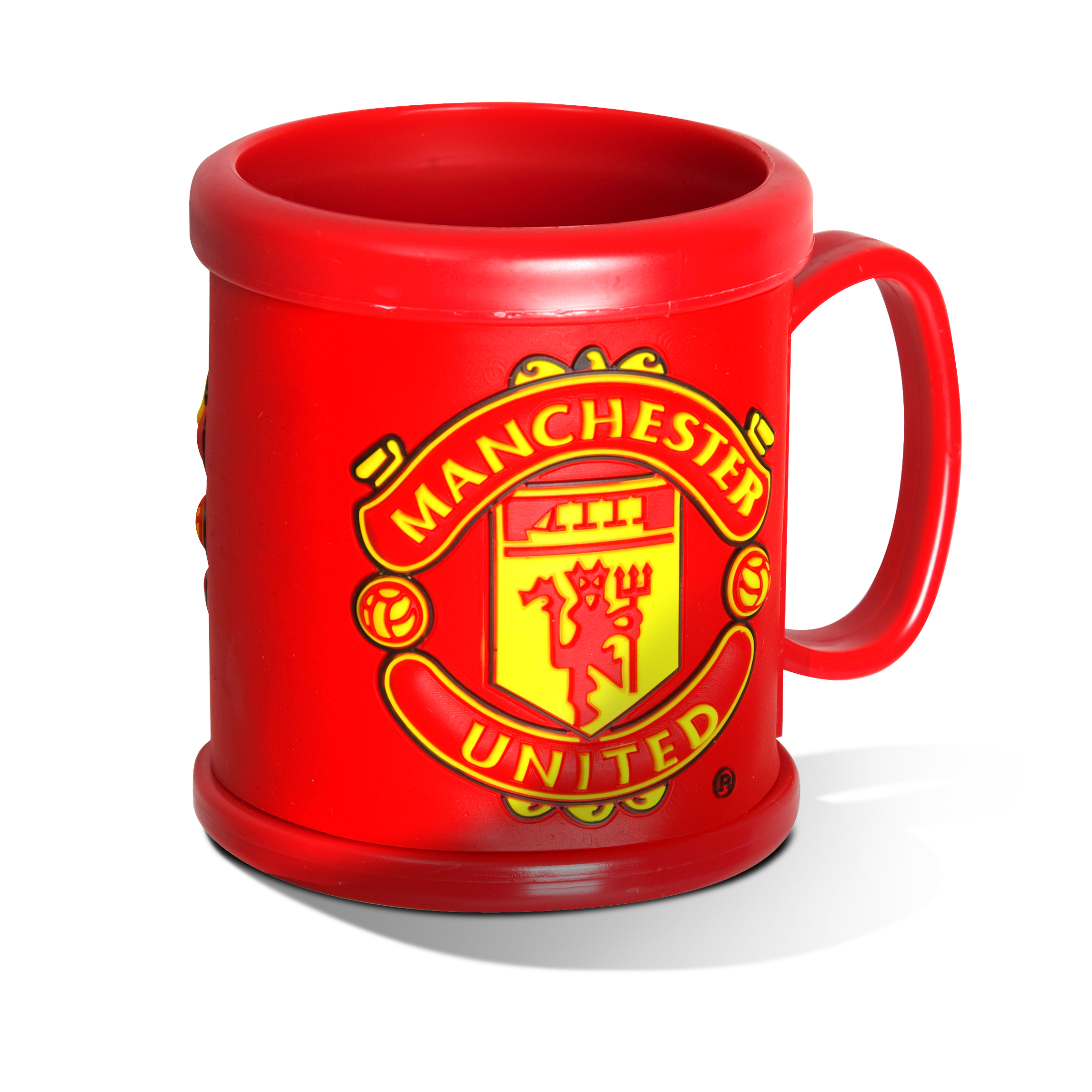 Manchester United Red Plastic Mug