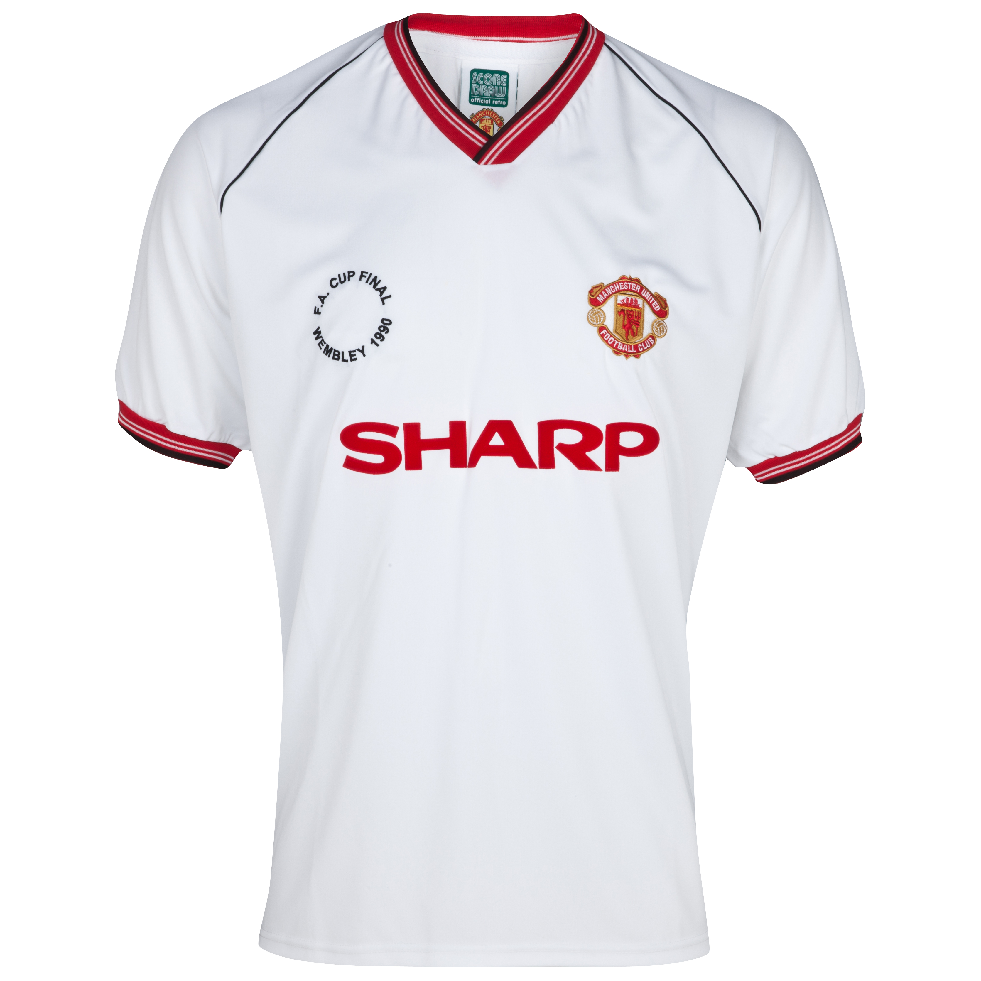Manchester United 1990 FA Cup Final Away Shirt