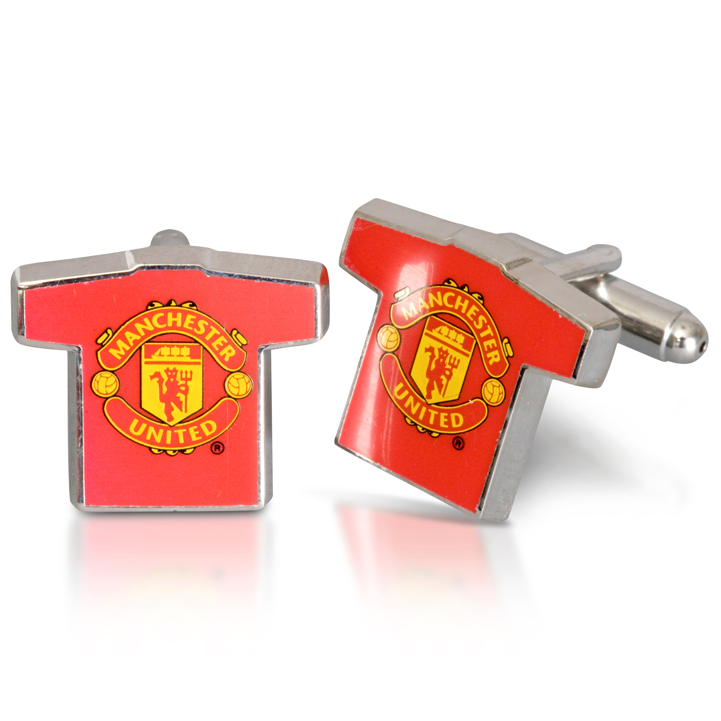 Manchester United Home Shirt Cufflinks