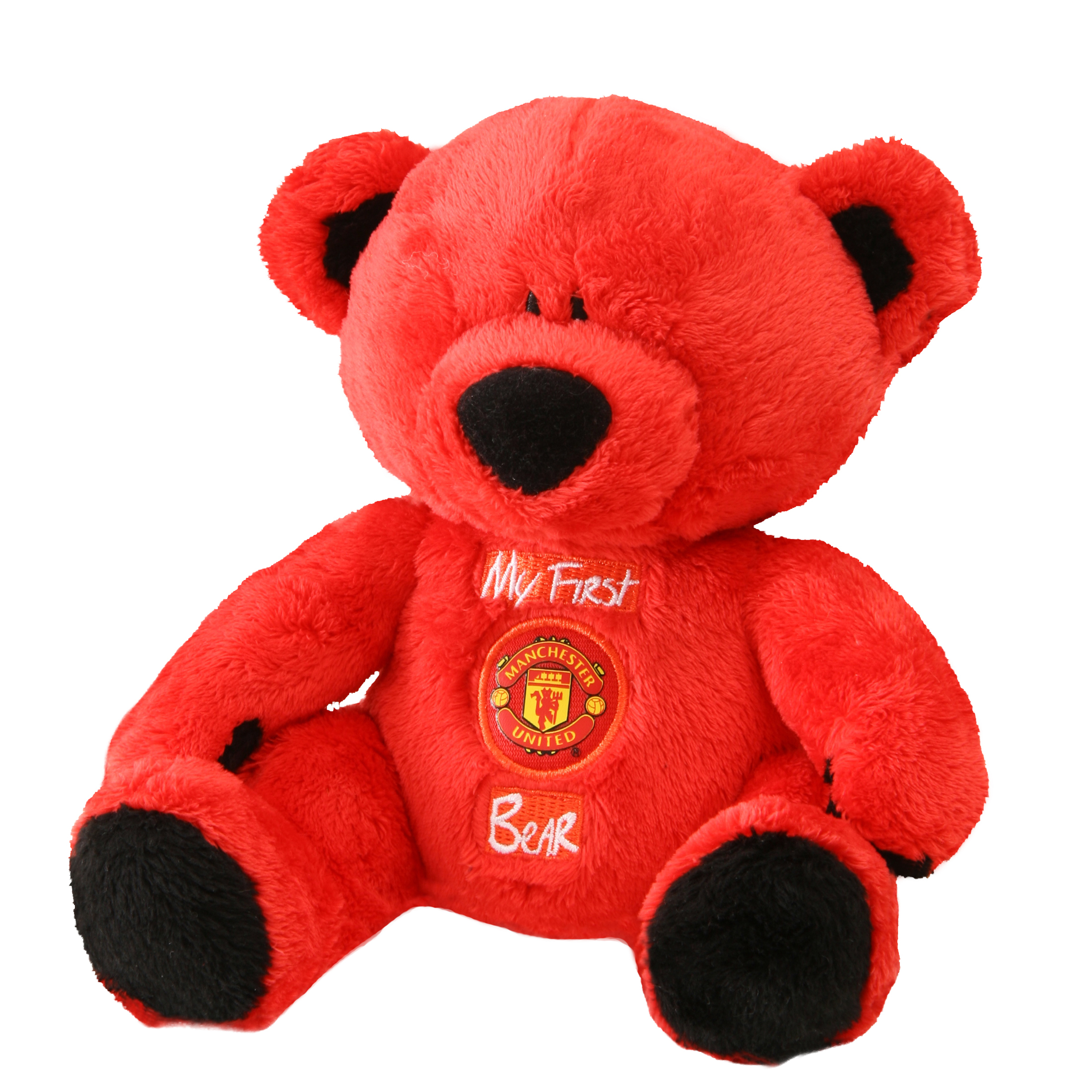 Manchester United Baby My First Bear Rattle