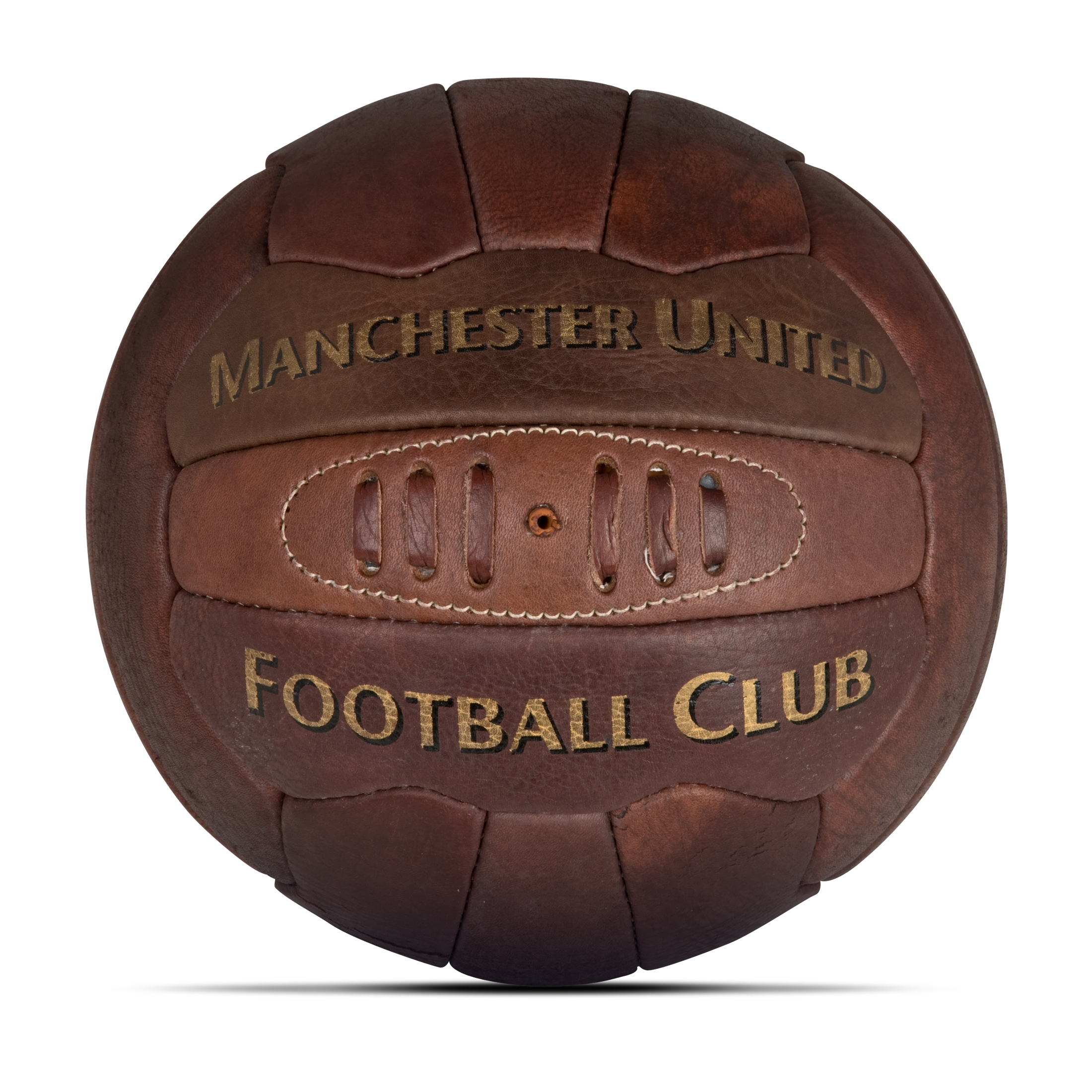 Manchester United Heritage Retro Football - Size 5