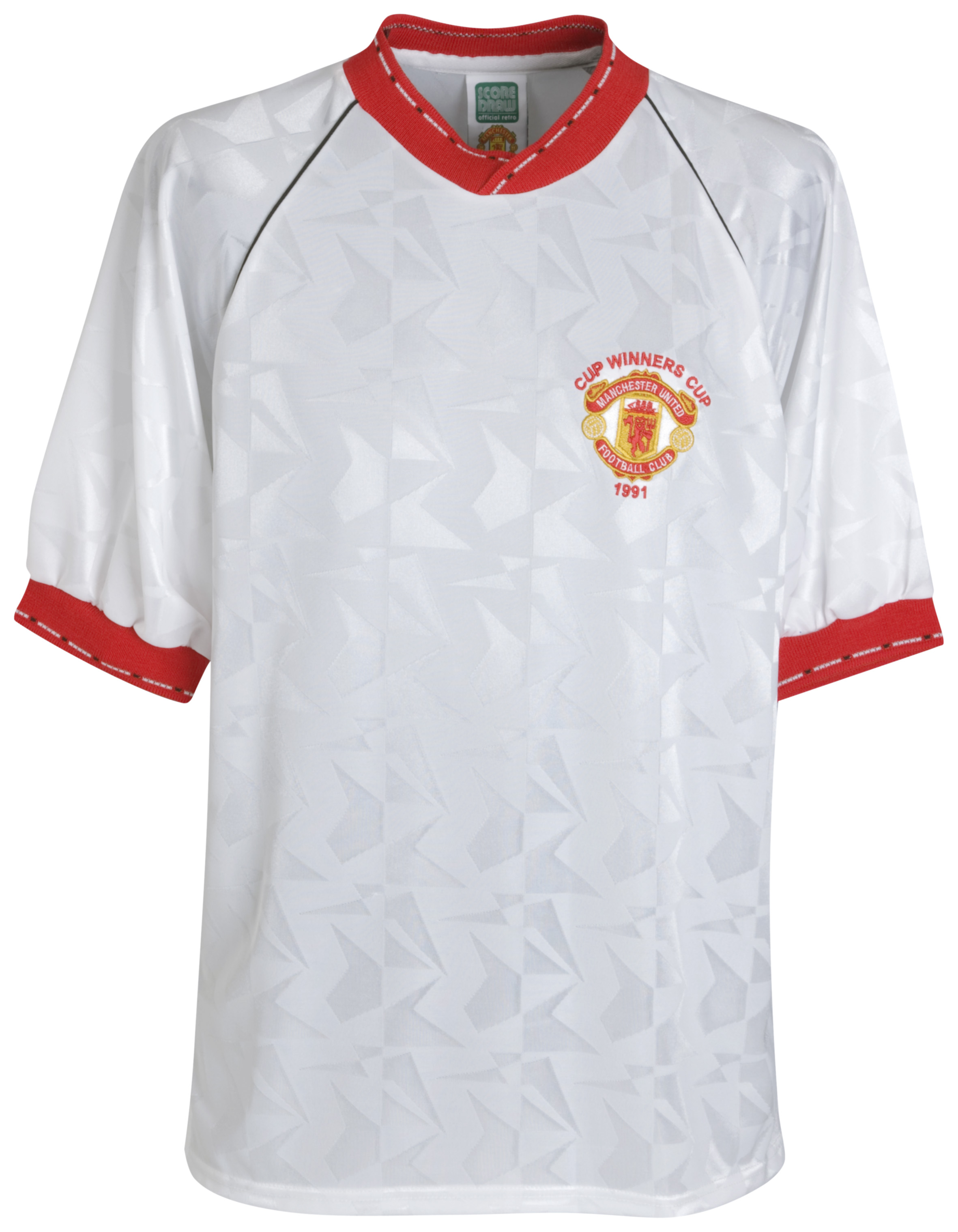 Manchester United 1991 ECWC Final Retro Shirt - No. 10