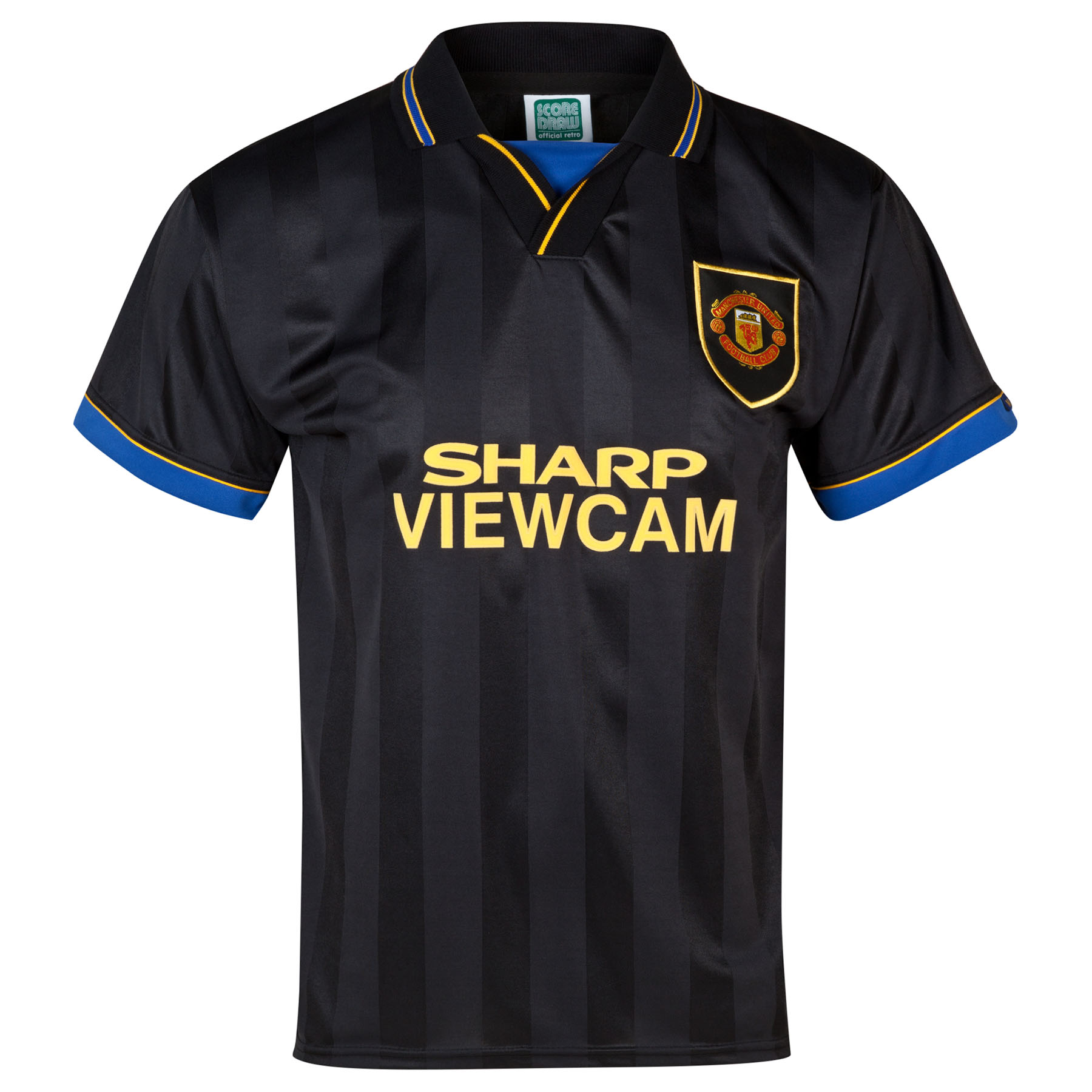 Manchester United Retro Away Baju