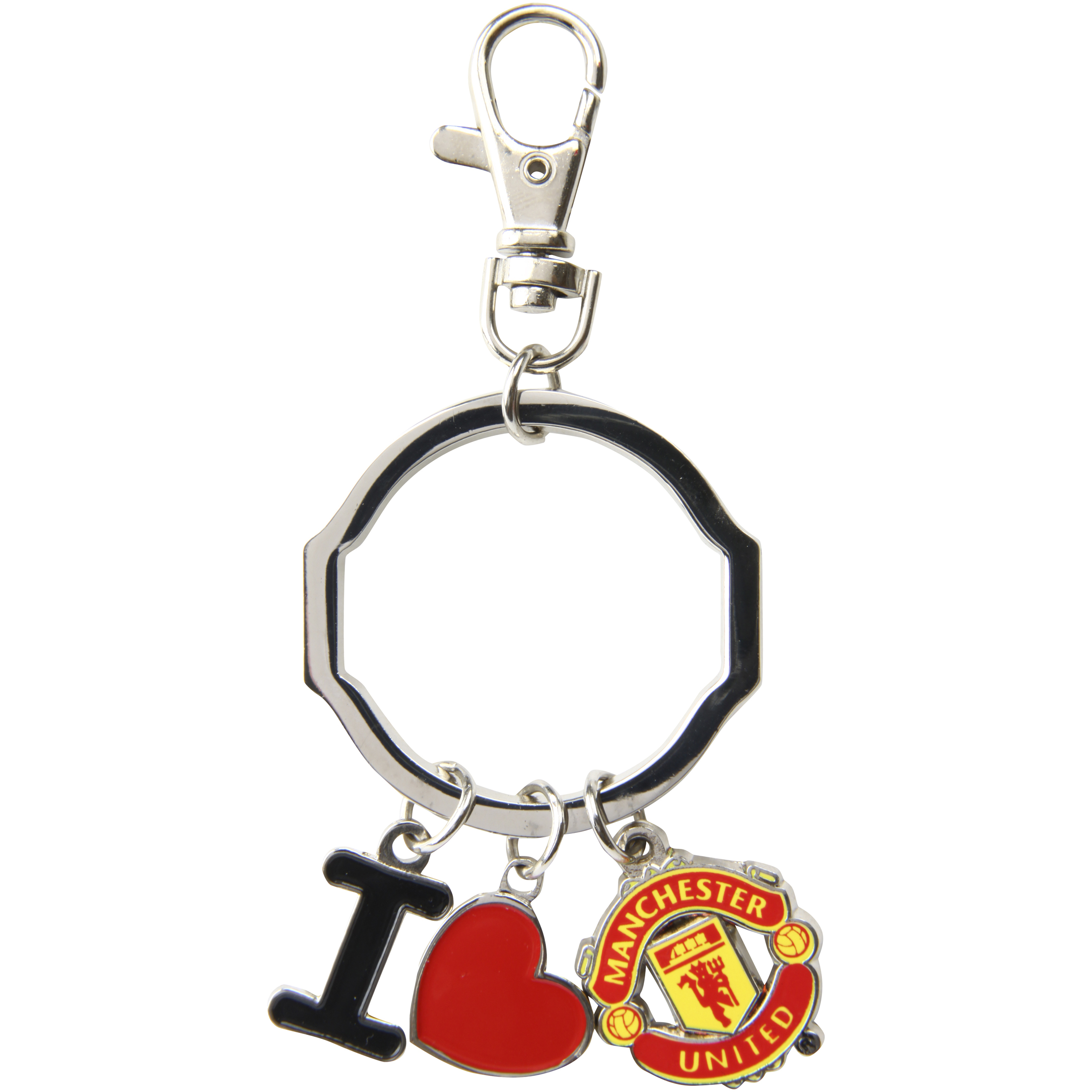 Manchester United I Love Bag Charm