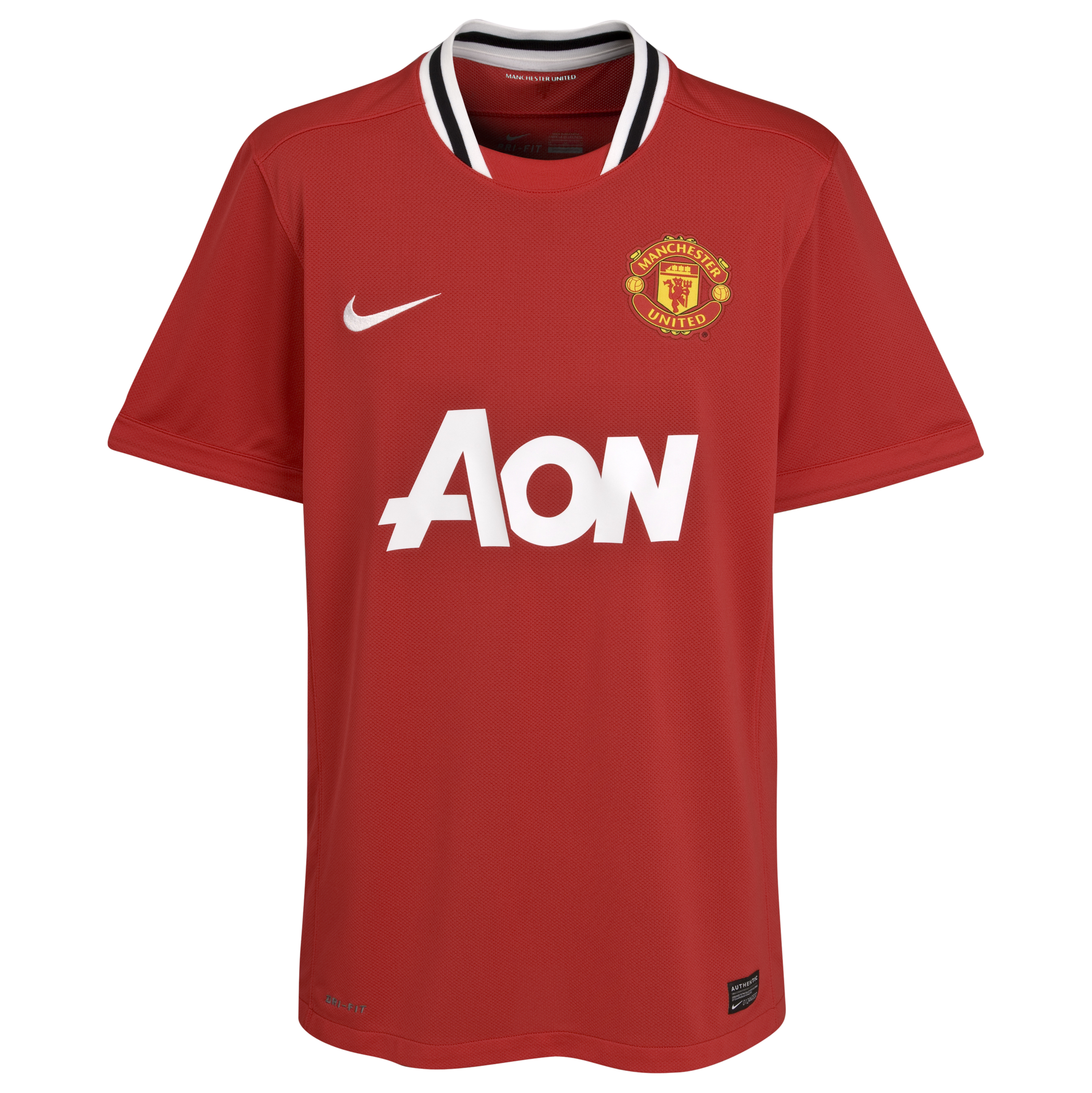 Manchester United Home Shirt 2011/12