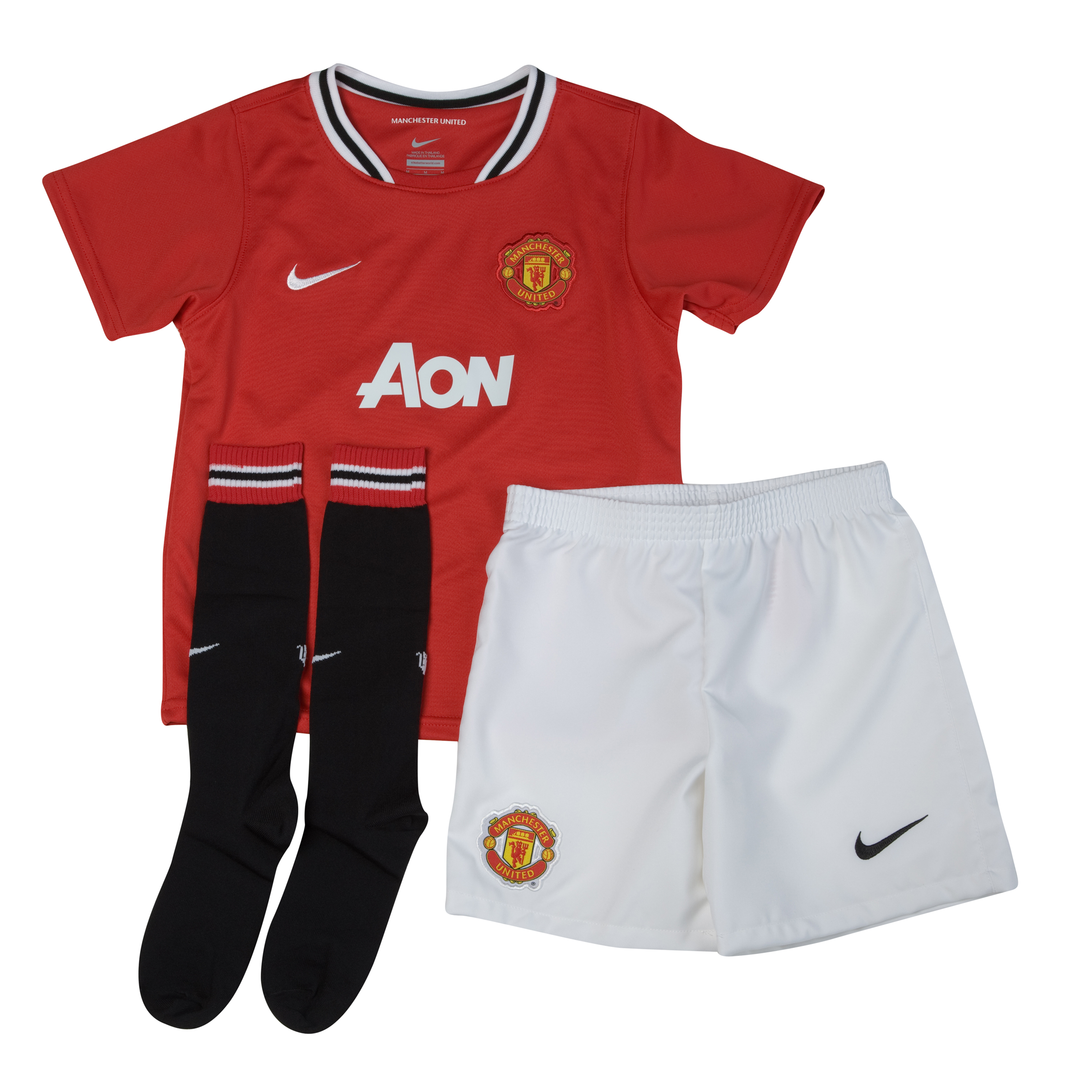 Manchester United Home Kit 2011/12 Little Kids