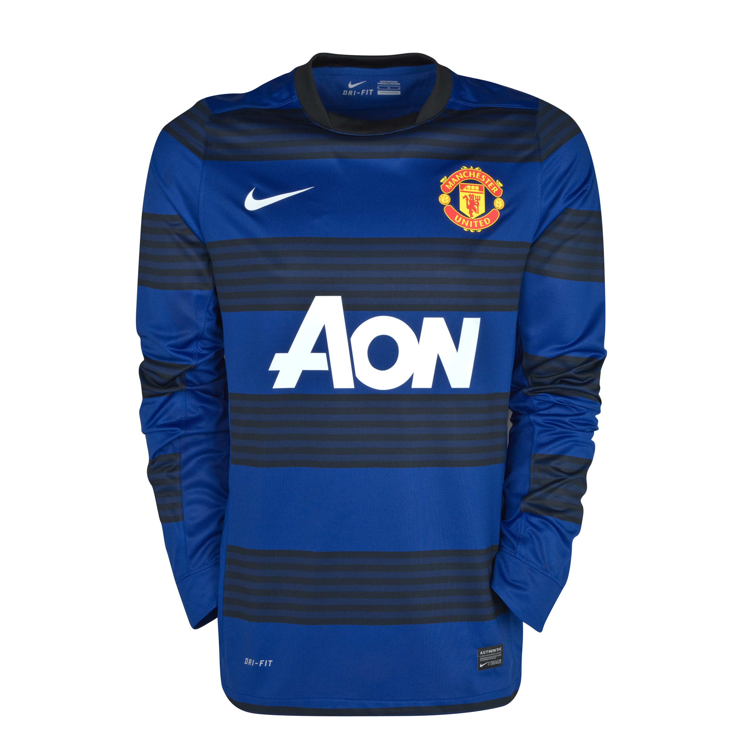 Manchester United Away Shirt 2011/12 - Long Sleeved - Kids