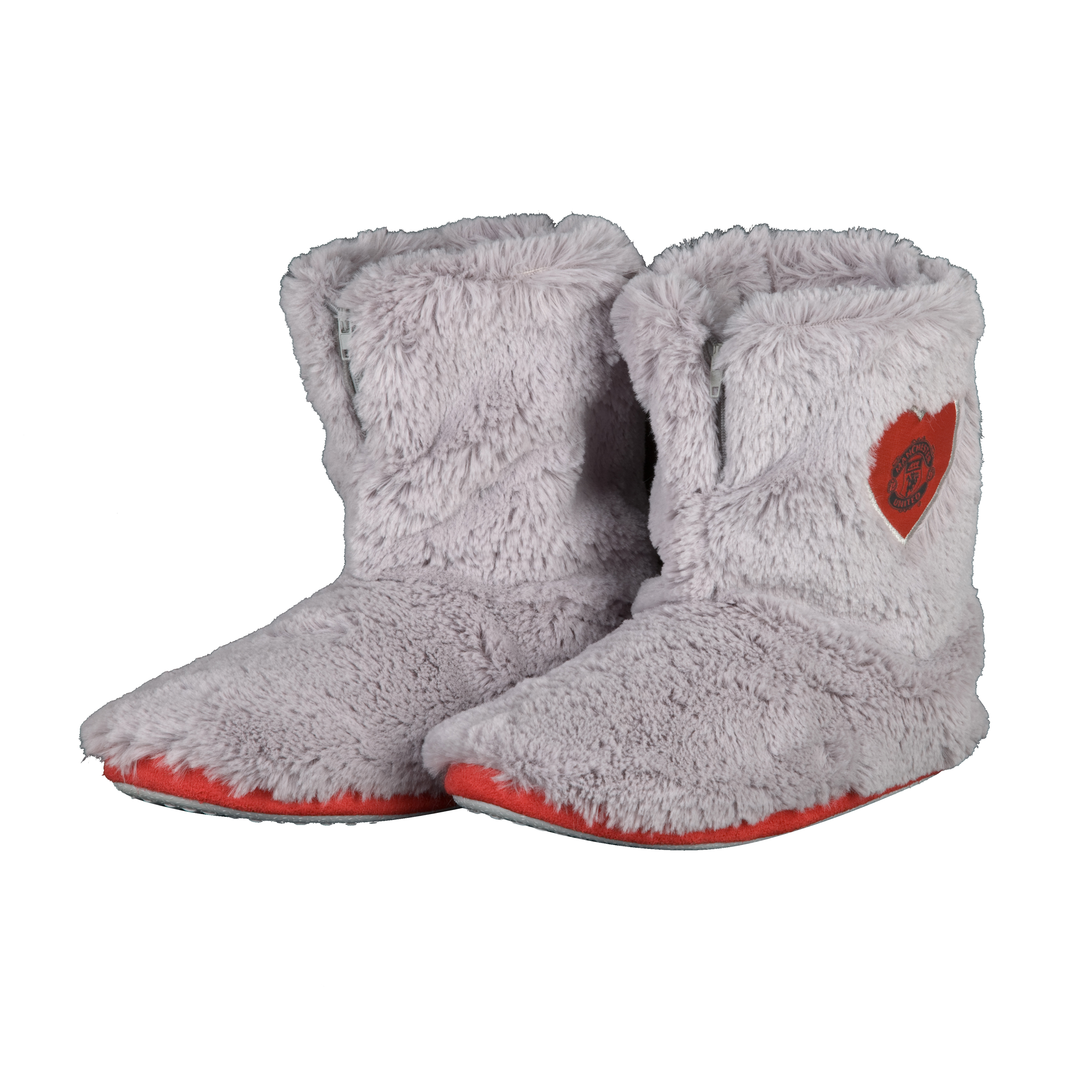 Manchester United  Fur Boot Slipper - Girls