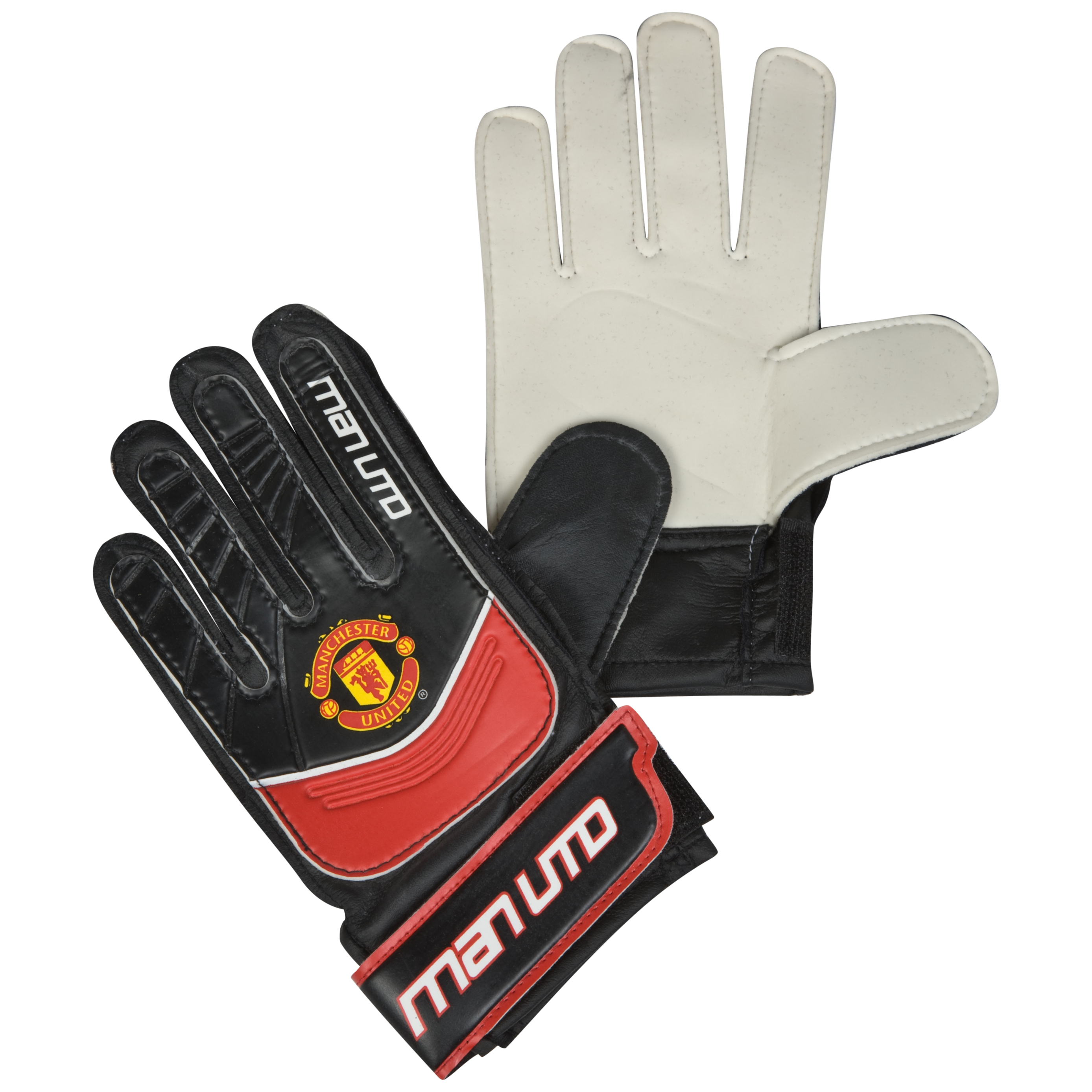 Manchester United Goal Keeper Gloves - Boys