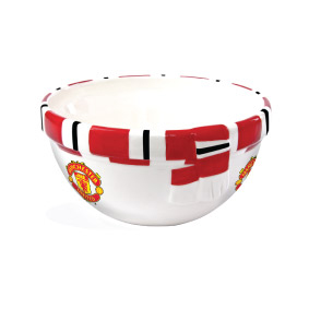 Manchester United Scarf Cereal Bowl