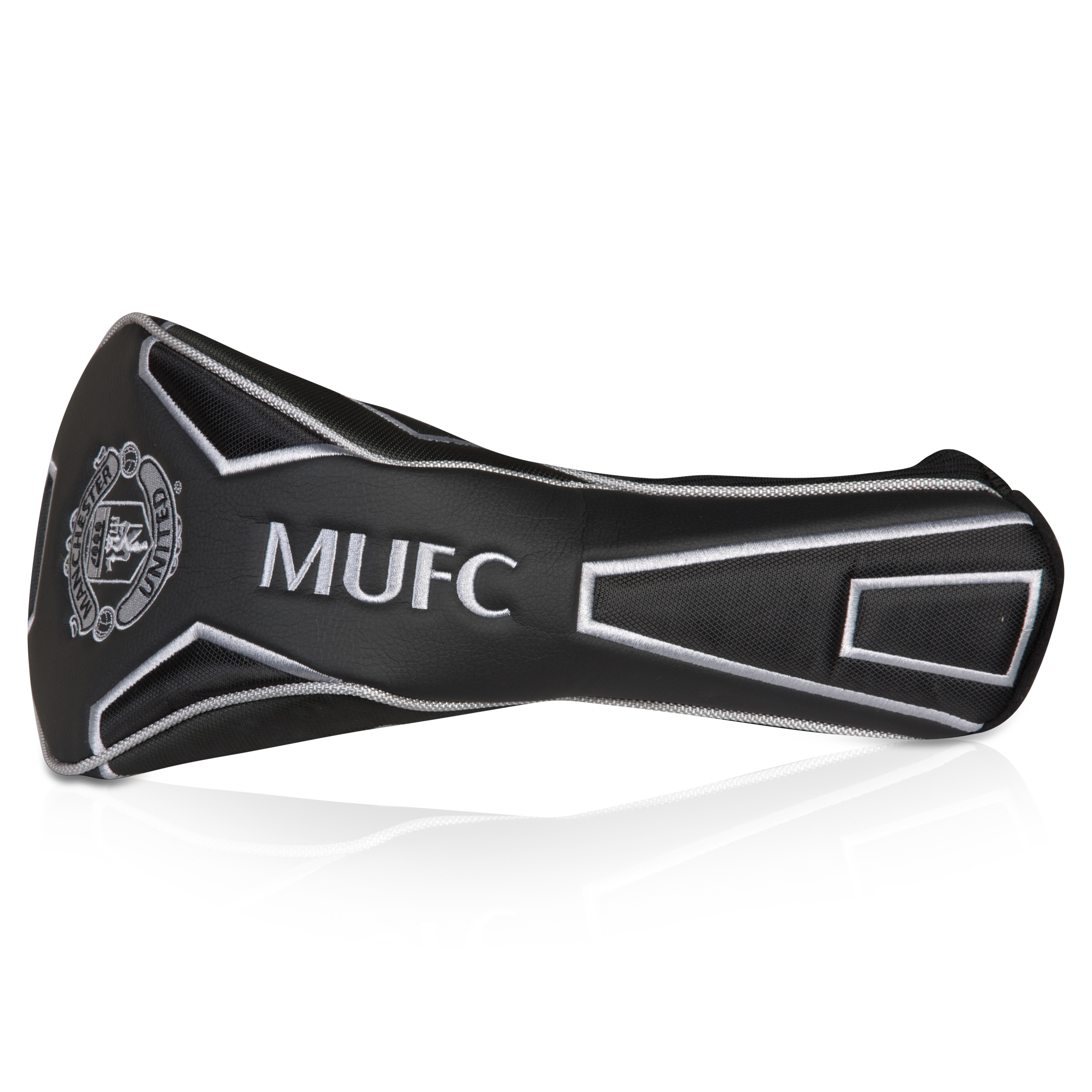 Manchester United Executive Driver Head Cover - Black/Silver