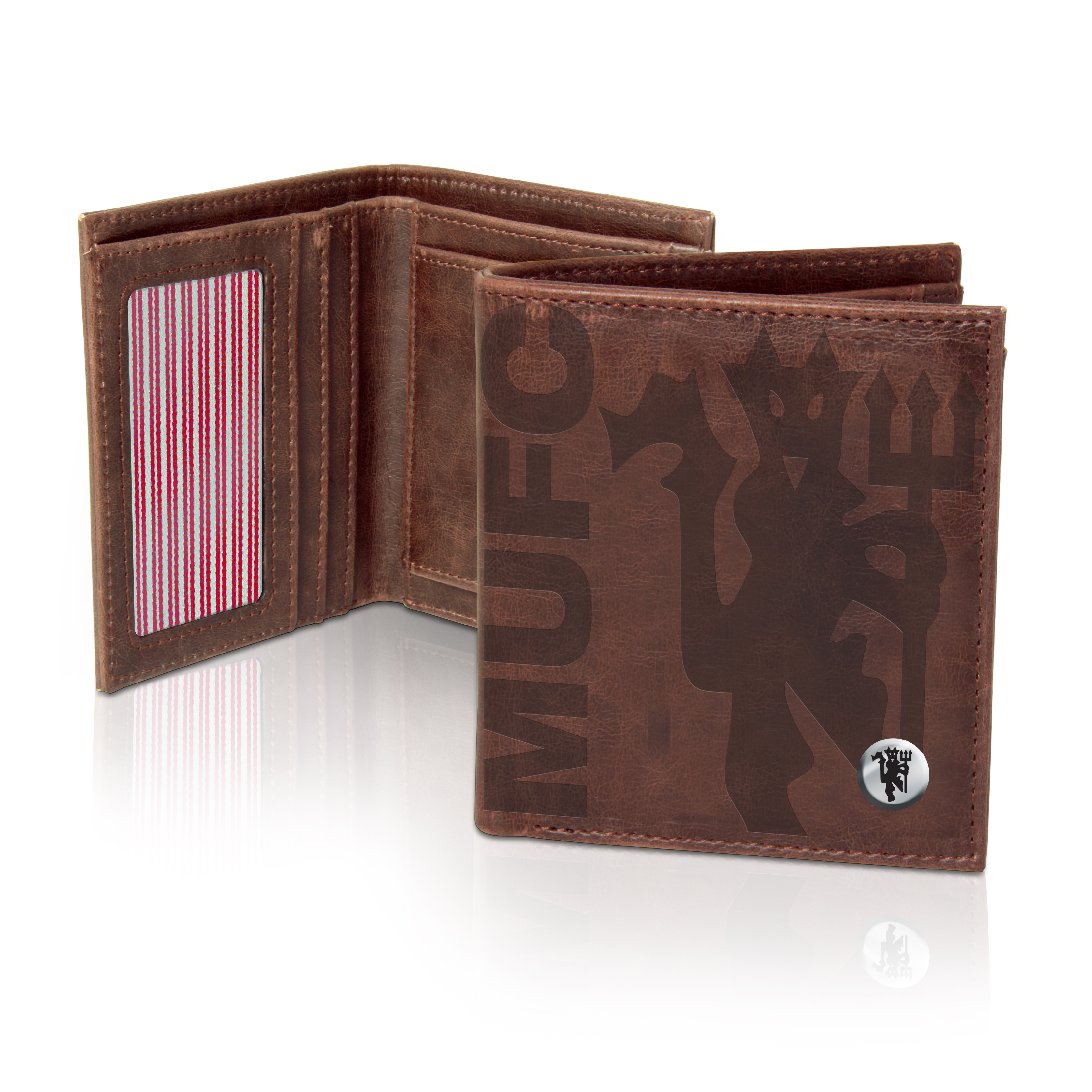 Manchester United Luxury Wallet - Brown