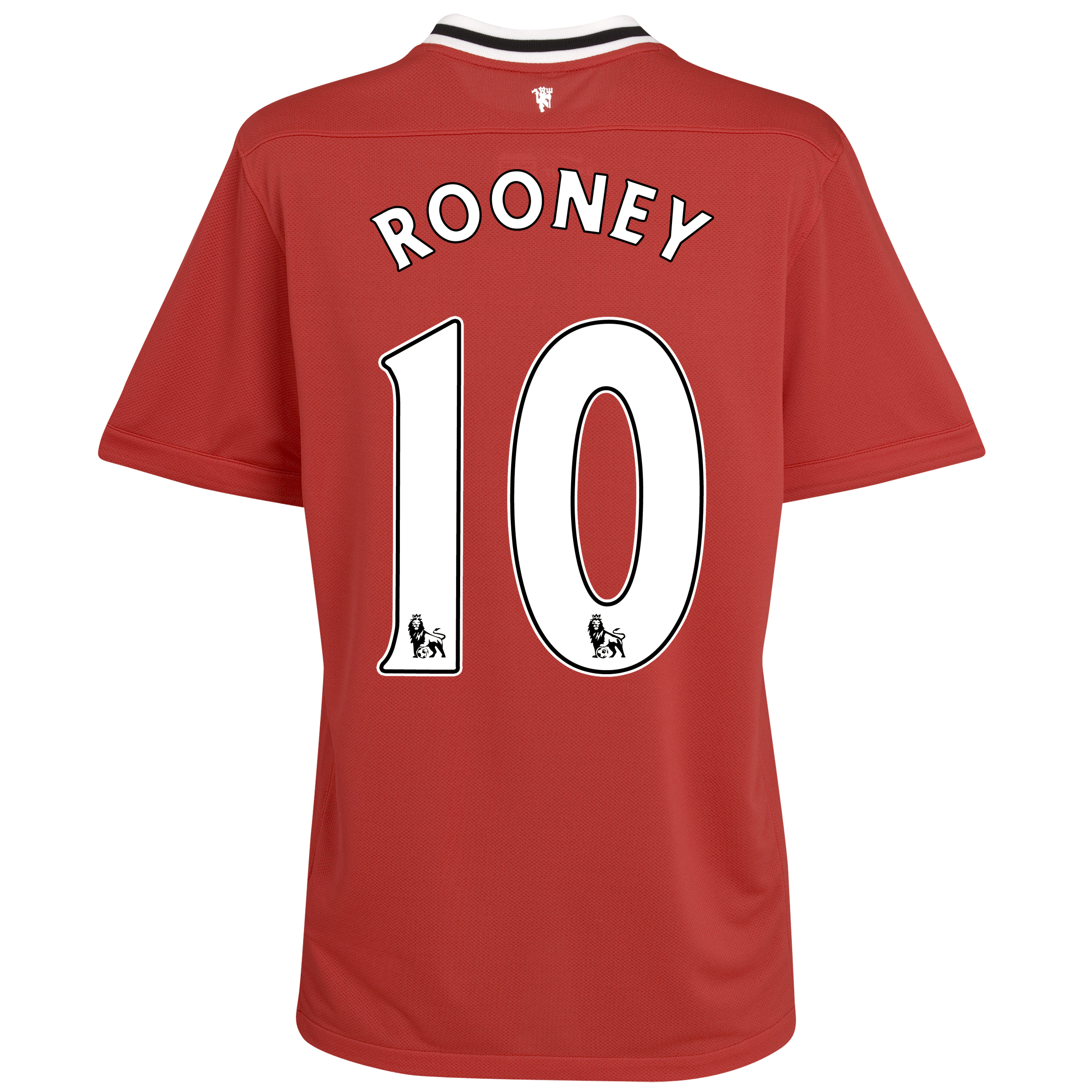 Manchester United Home Shirt 2011/12 with Rooney 10 printing
