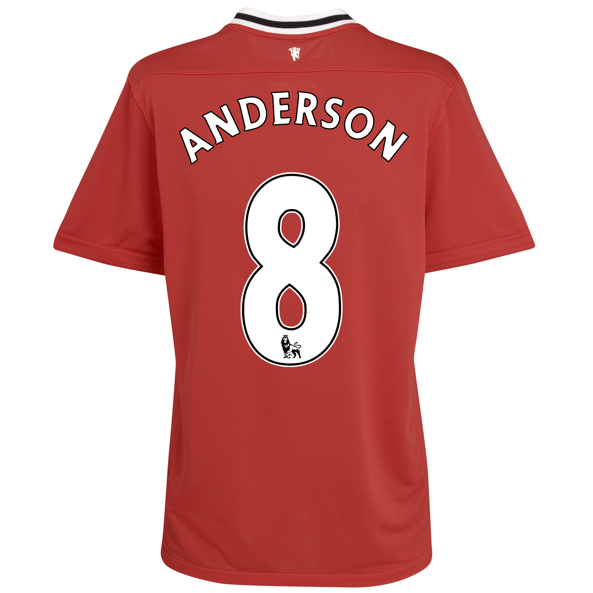 Manchester United Home Shirt 2011/12 - Kids with Anderson 8 printing