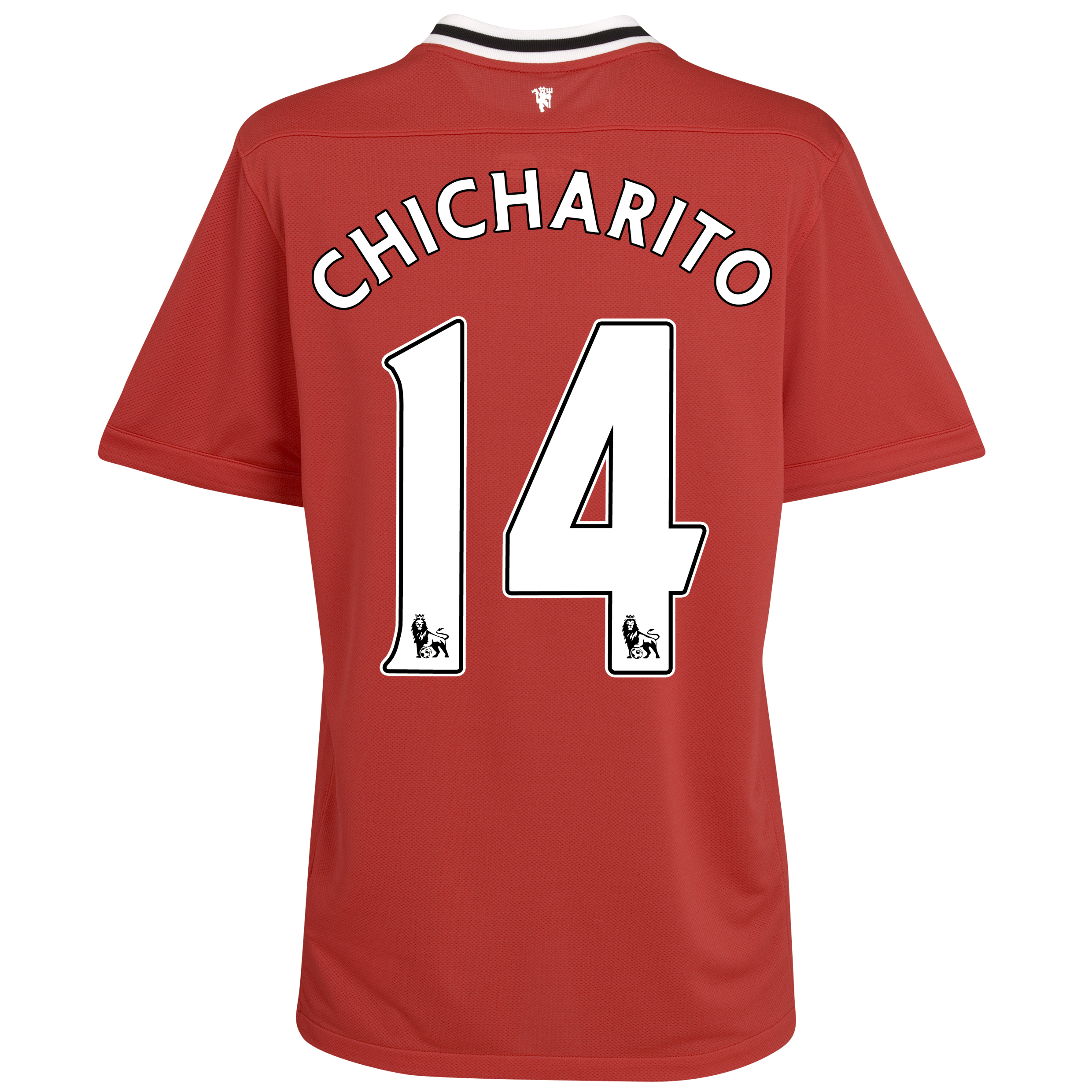 Manchester United Home Shirt 2011/12 - Kids with Chicharito 14 printing
