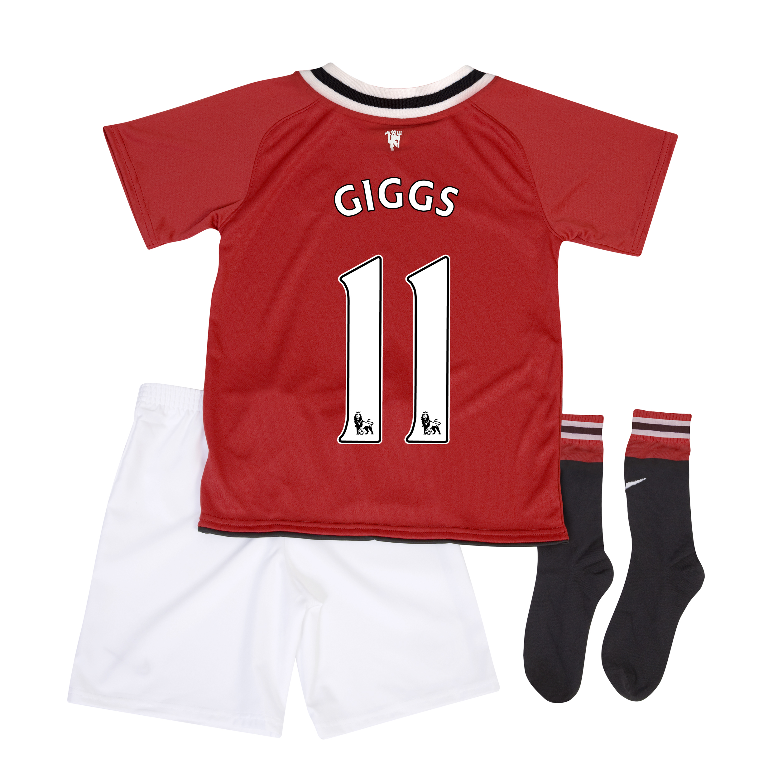Manchester United Home Kit 2011/12 - Little Kids with Giggs 11 printing