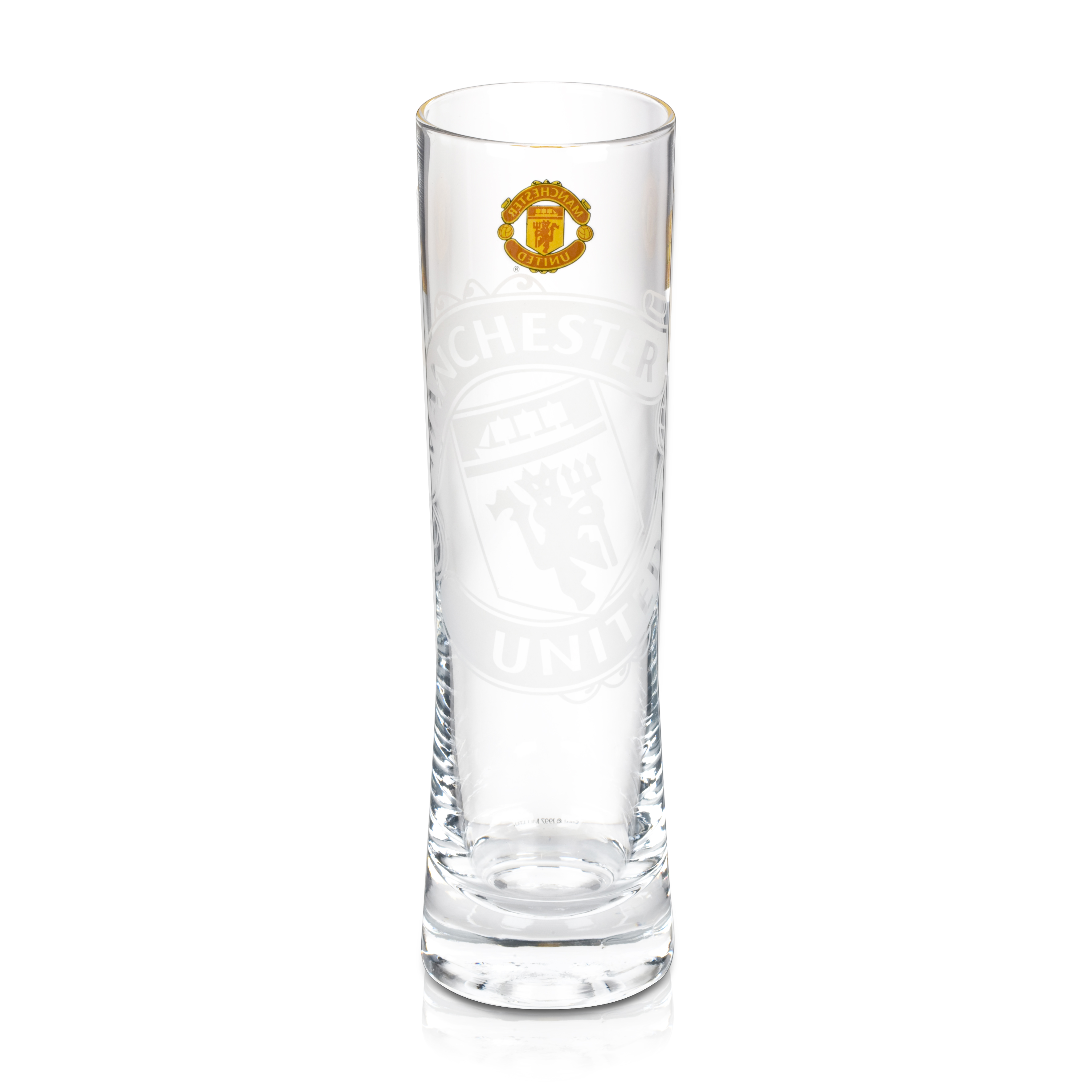 Manchester United Fresh Pint Glass