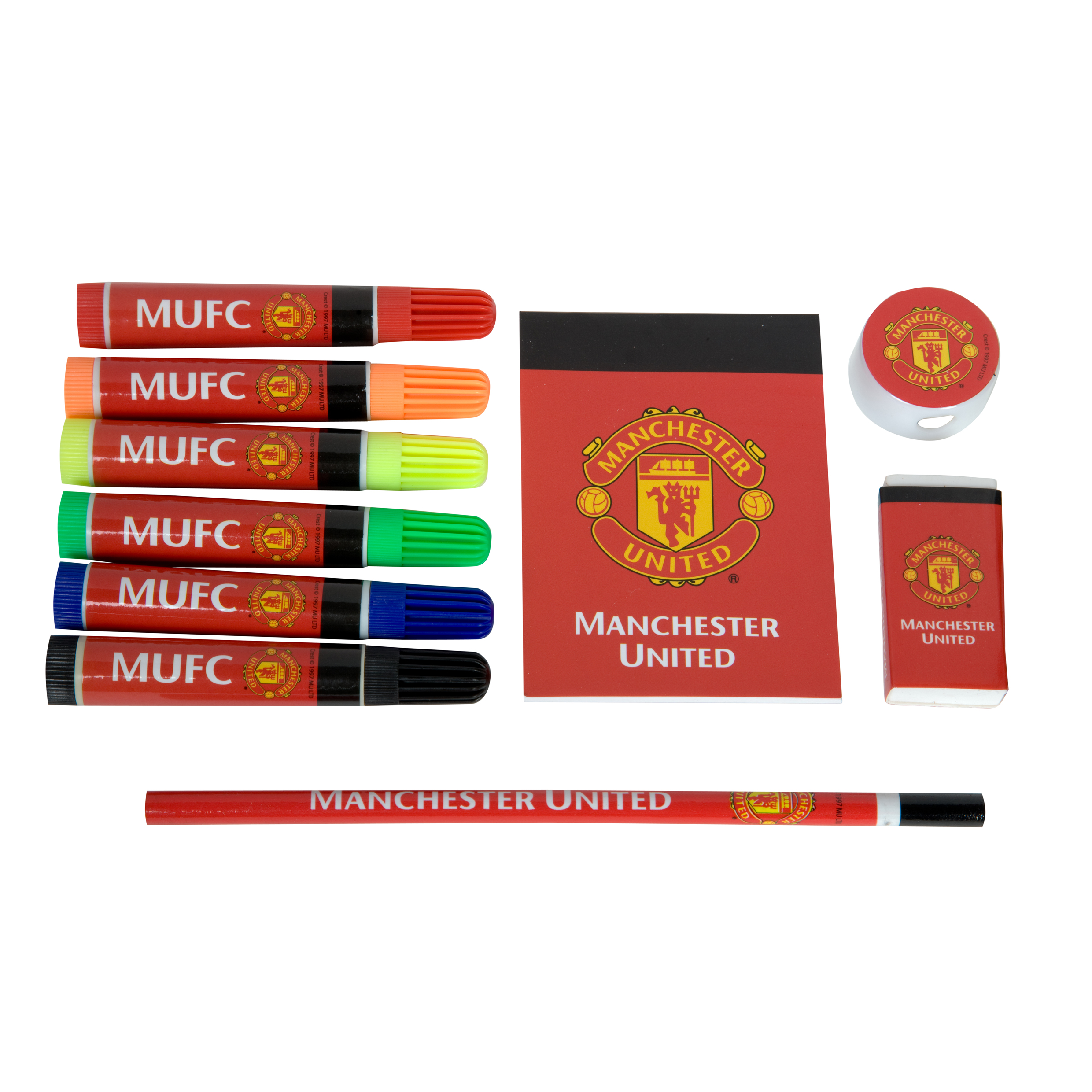 Manchester United Felt Pen Stationery Set