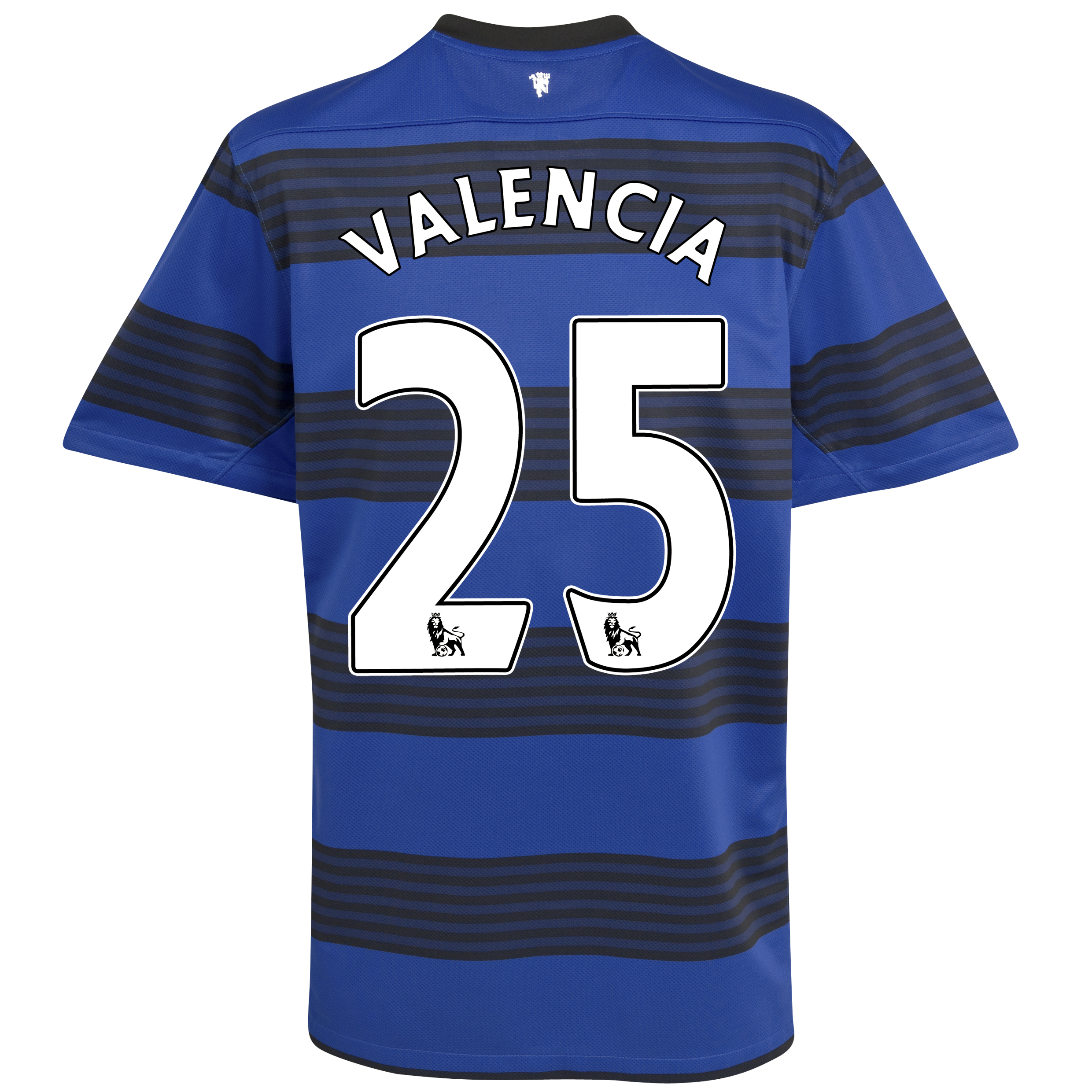 Manchester United Away Shirt 2011/12 with Valencia 25 printing