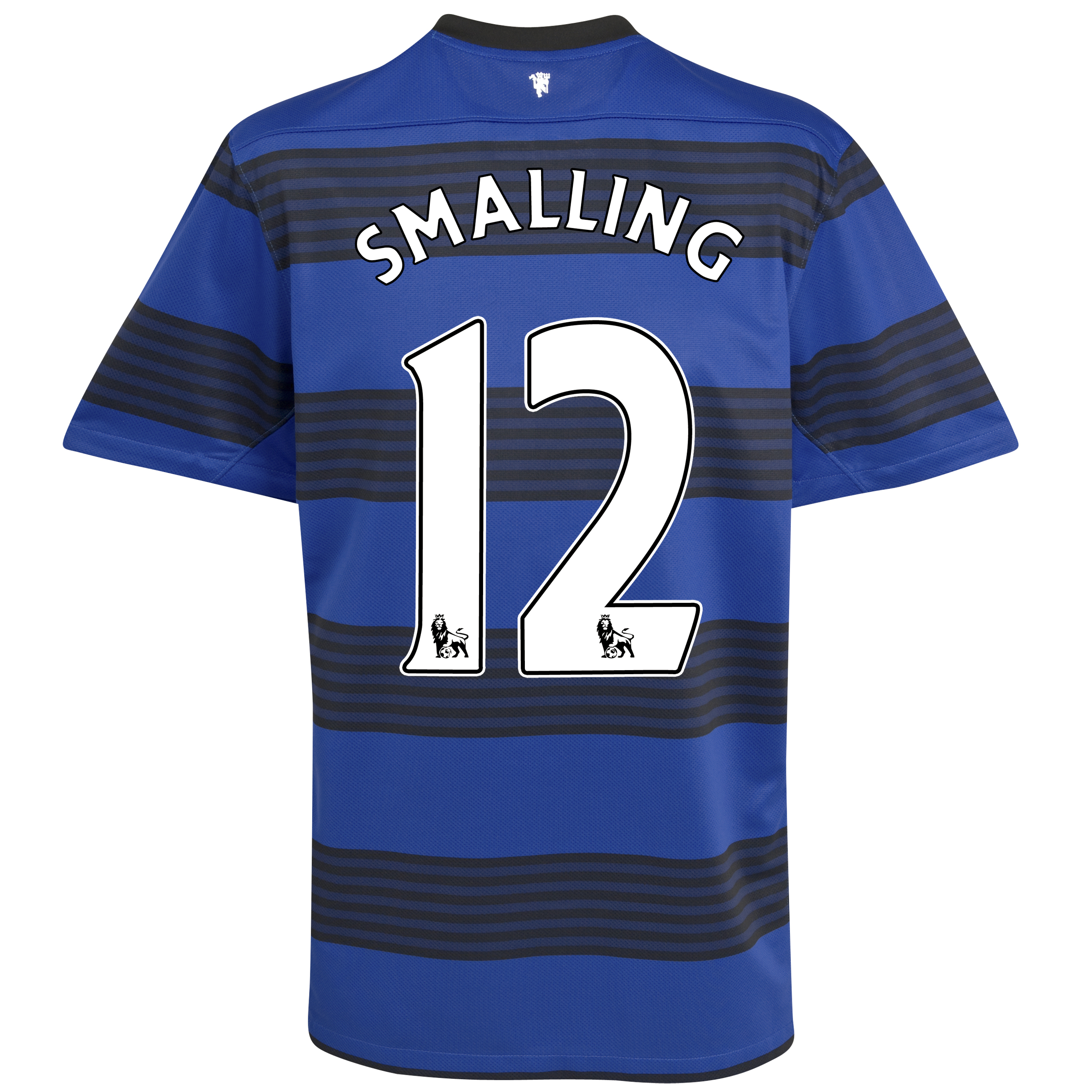 Manchester United Away Shirt 2011/12 - Kids with Smalling 12 printing