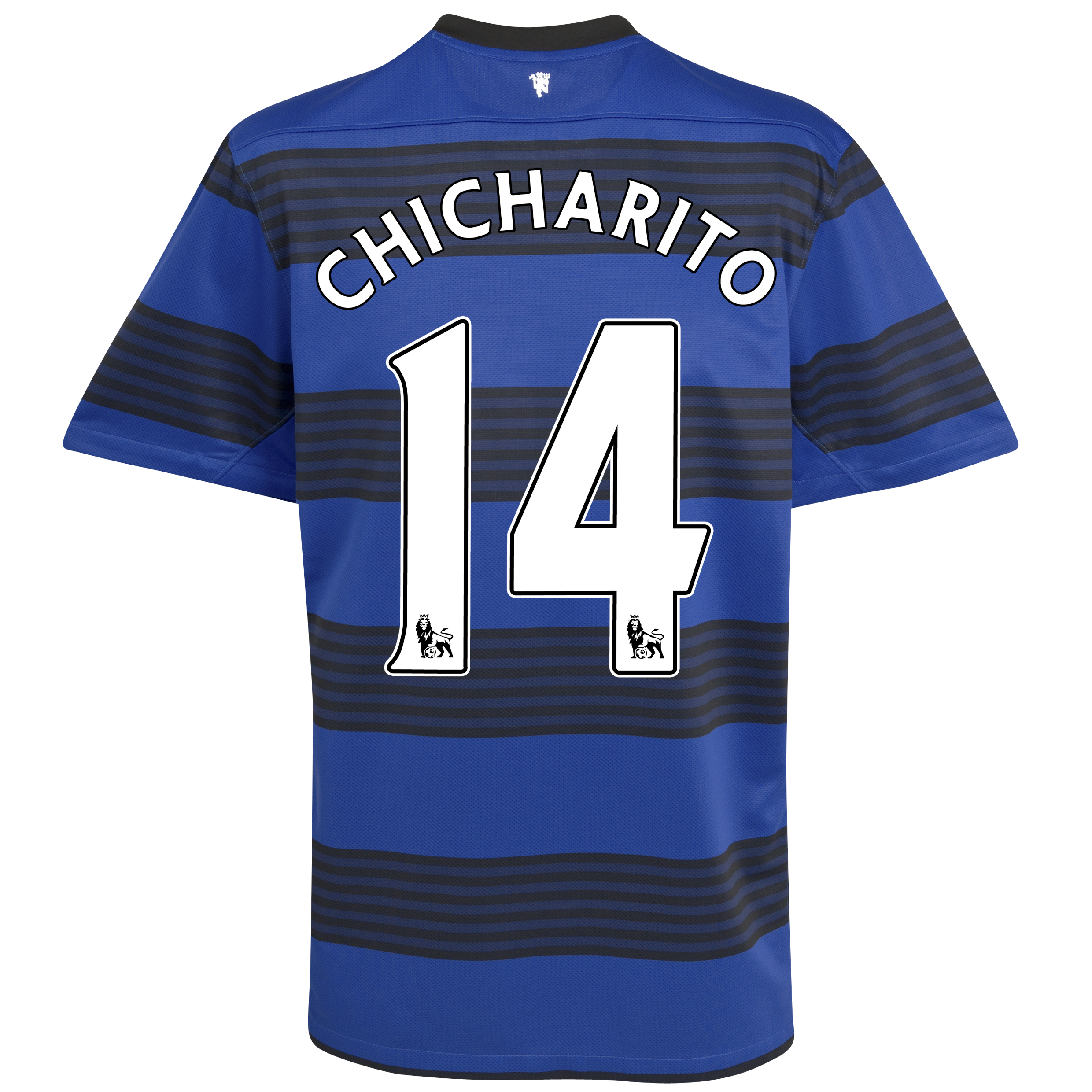 Manchester United Away Shirt 2011/12 - Kids with Chicharito 14 printing