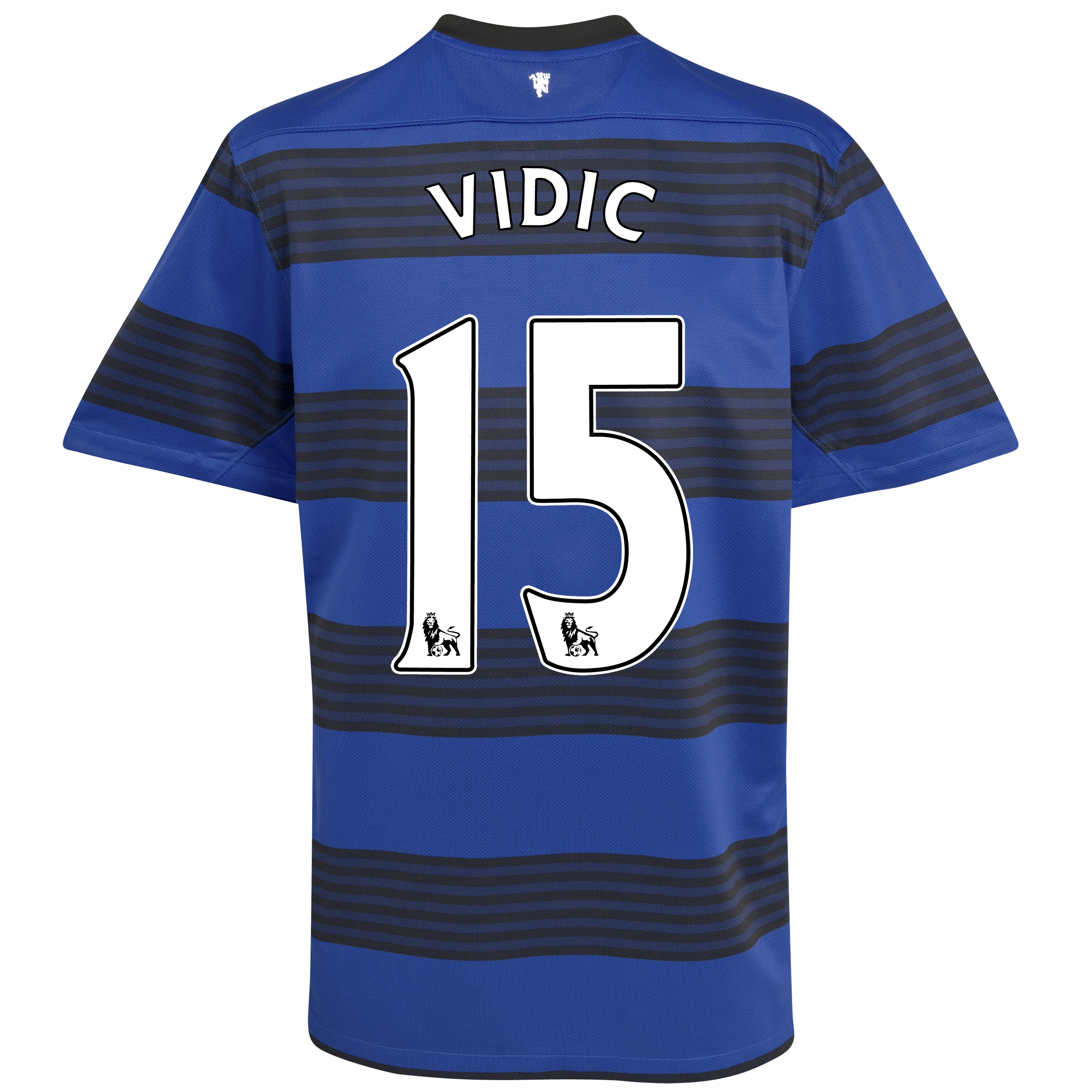 Manchester United Away Shirt 2011/12 - Kids with Vidic 15 printing