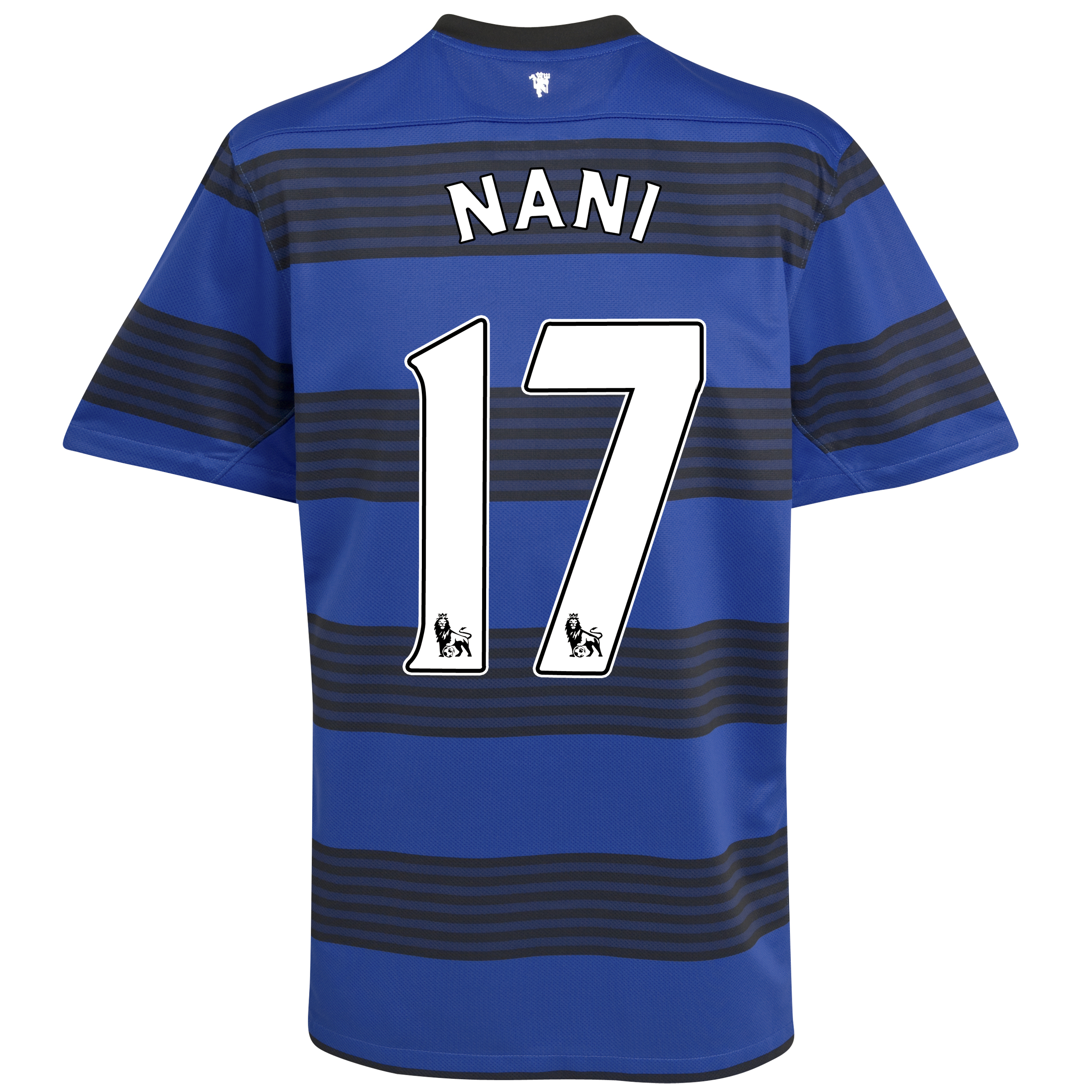 Manchester United Away Shirt 2011/12 - Kids with Nani 17 printing