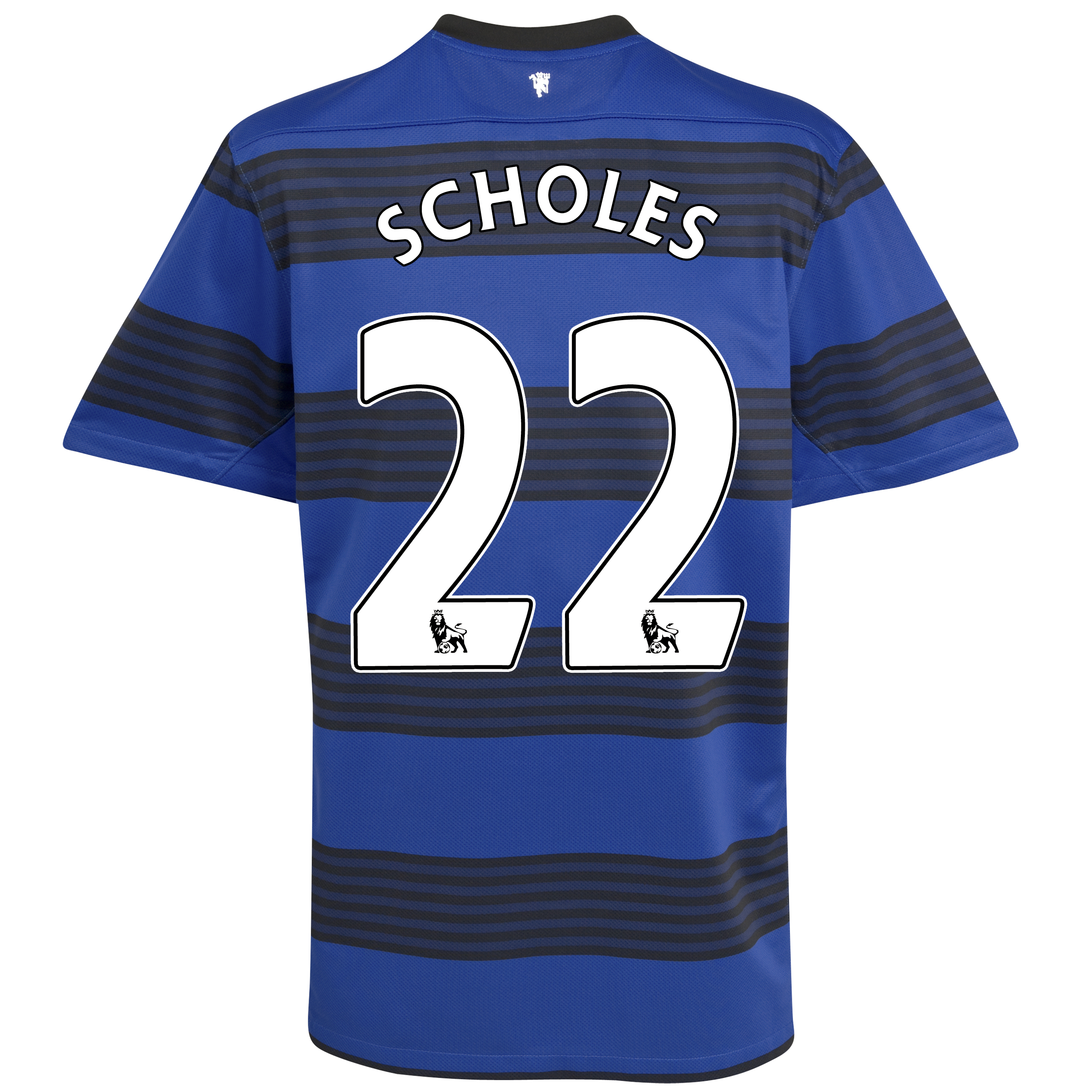 Manchester United Away Shirt 2011/12 - Kids with Scholes 22 printing