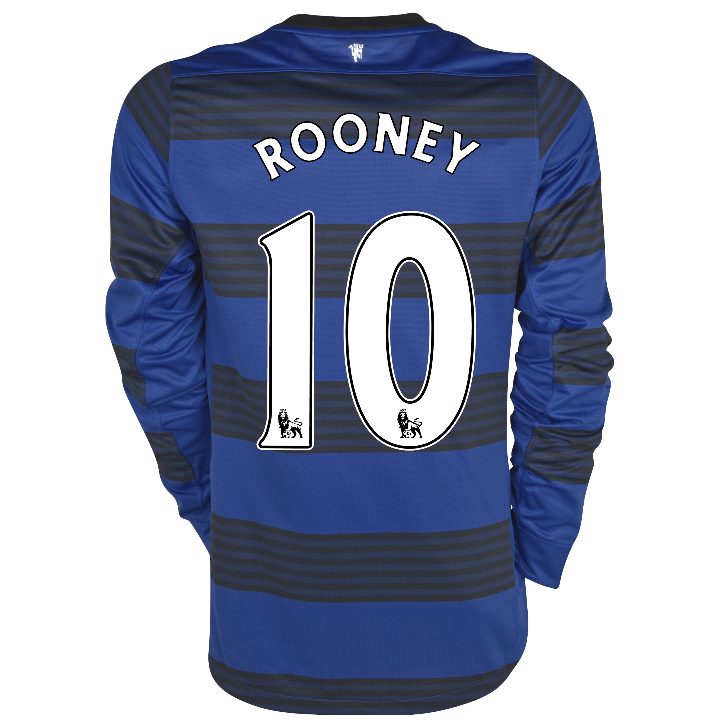 Manchester United Away Shirt 2011/12 - Long Sleeved - Kids with Rooney 10 printing