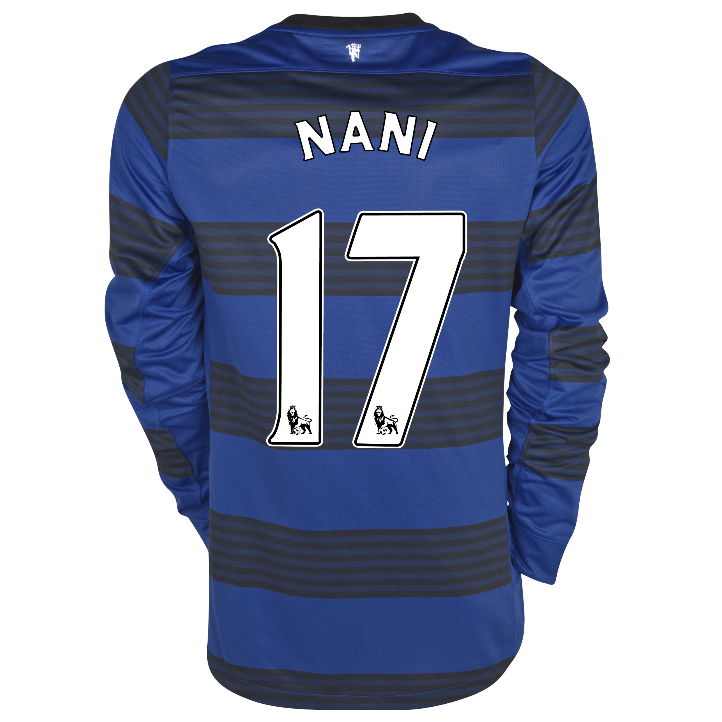 Manchester United Away Shirt 2011/12 - Long Sleeved - Kids with Nani 17 printing