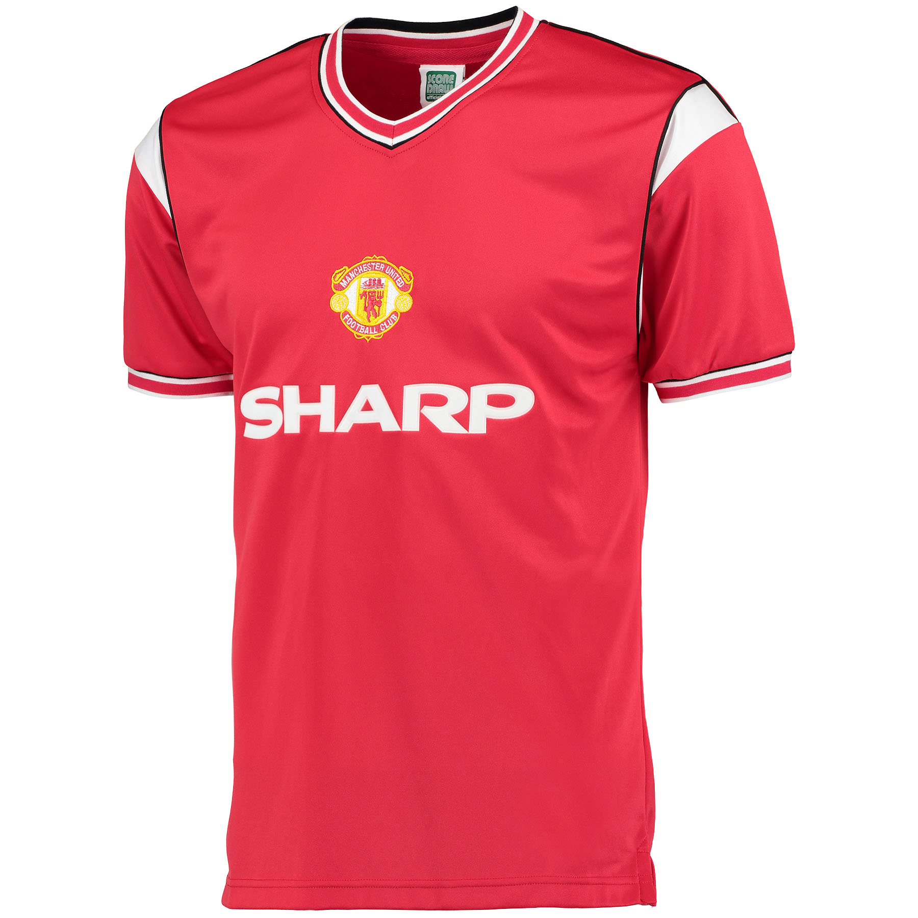 Manchester United 1985 Retro Home Shirt - Red