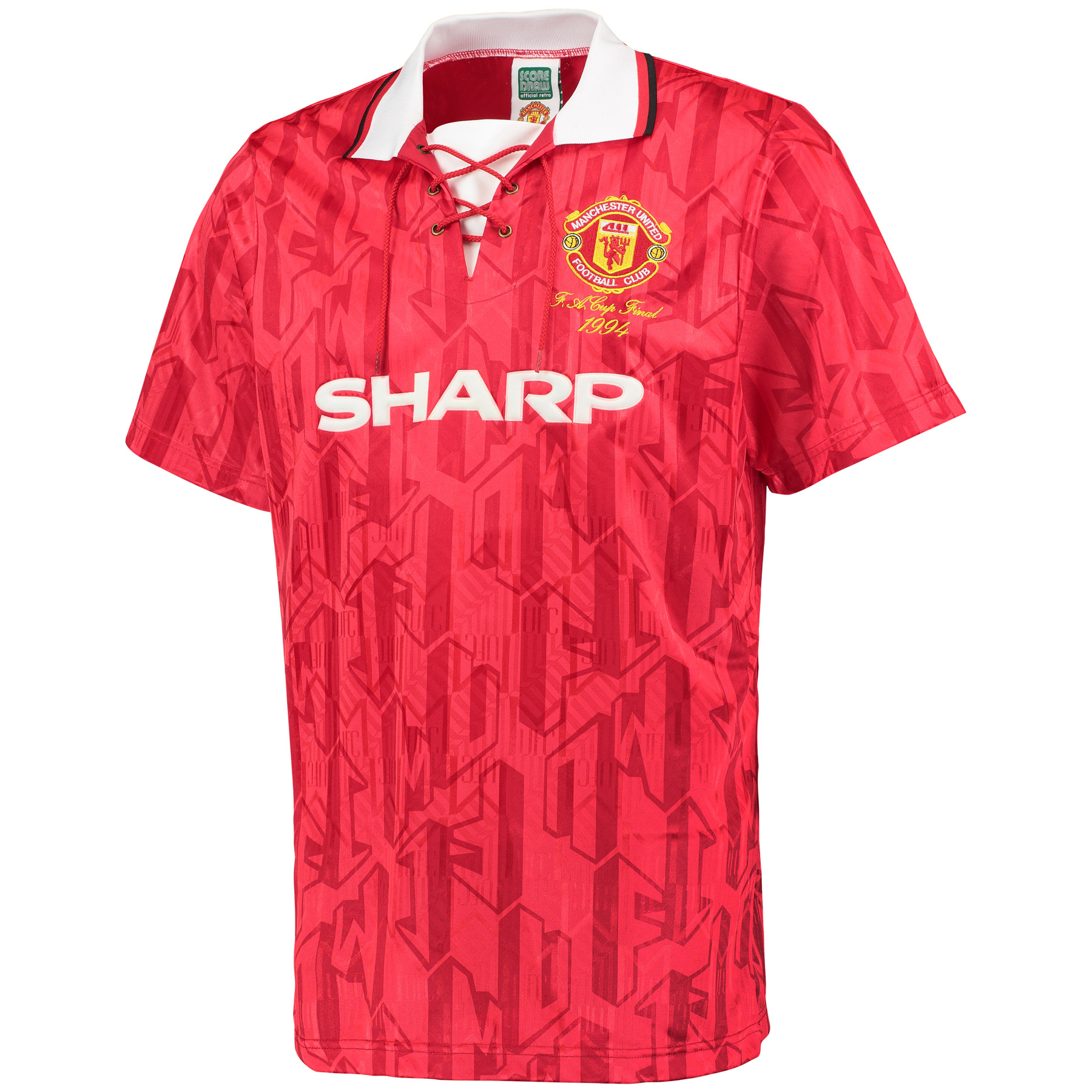Manchester United 1994 FA Cup Final No 7 Shirt