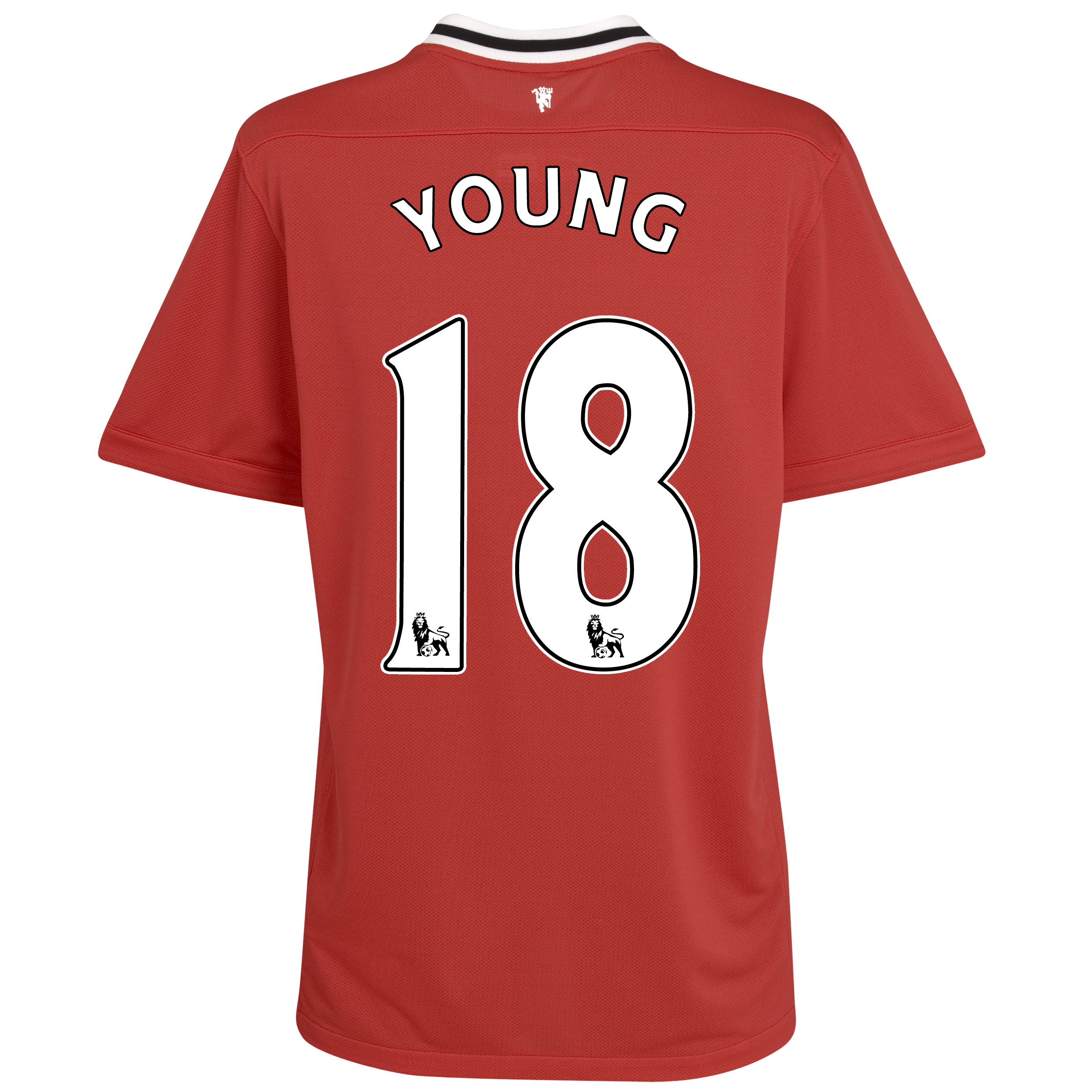 Manchester United Home Shirt 2011/12 - Kids with Young 18 printing