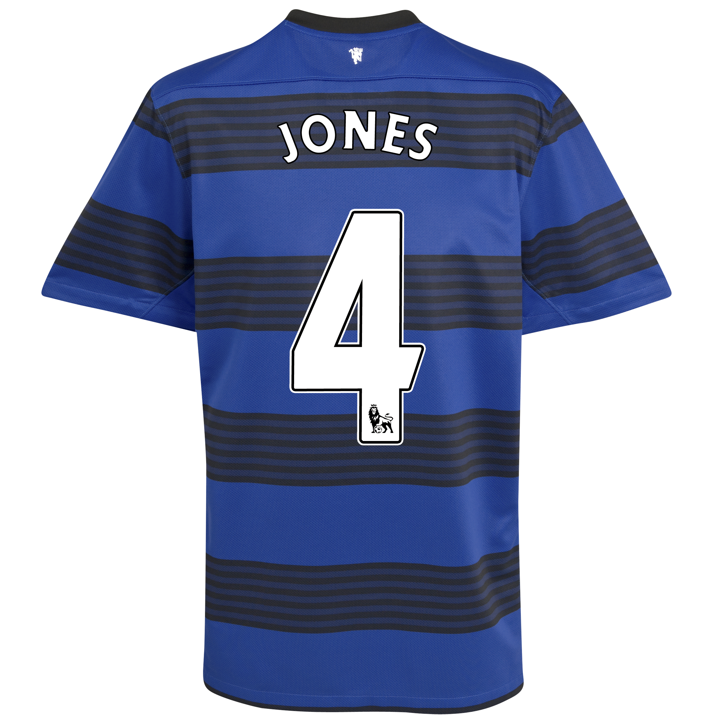 Manchester United Away Shirt 2011/12 with Jones 4 printing