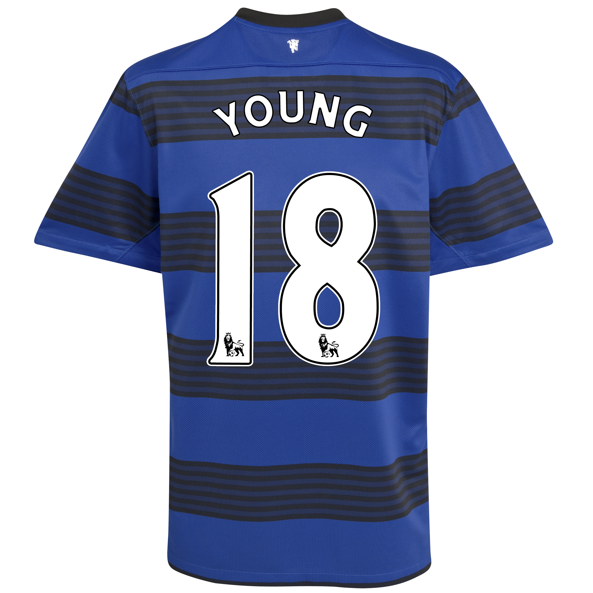 Manchester United Away Shirt 2011/12 - Kids with Young 18 printing